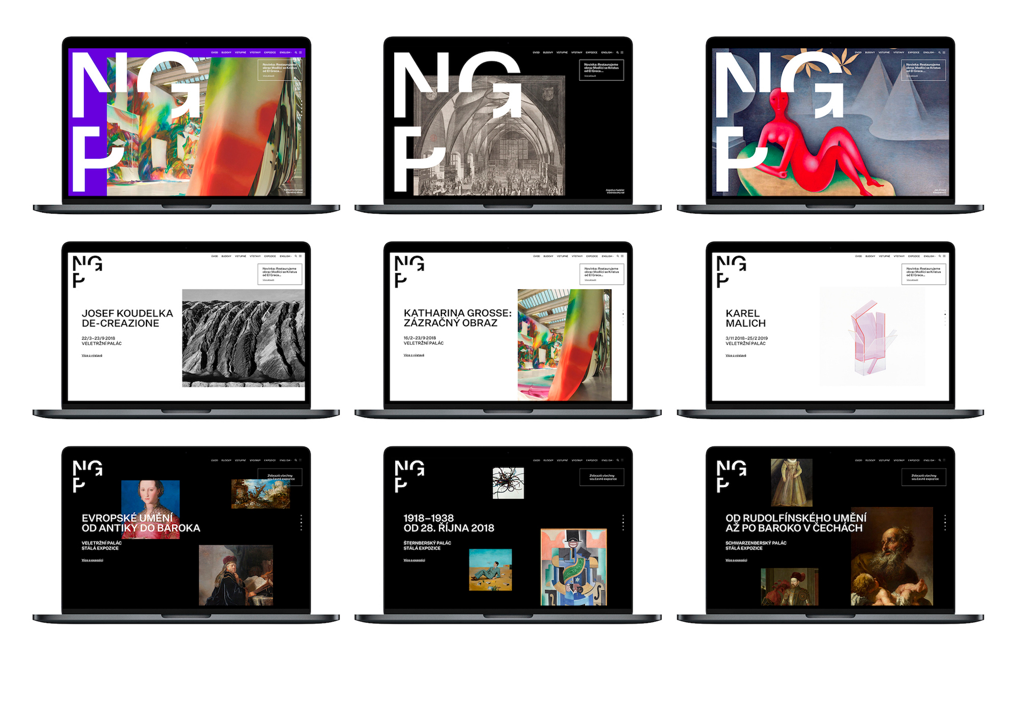 National Gallery Prague – Visual Identity on Behance