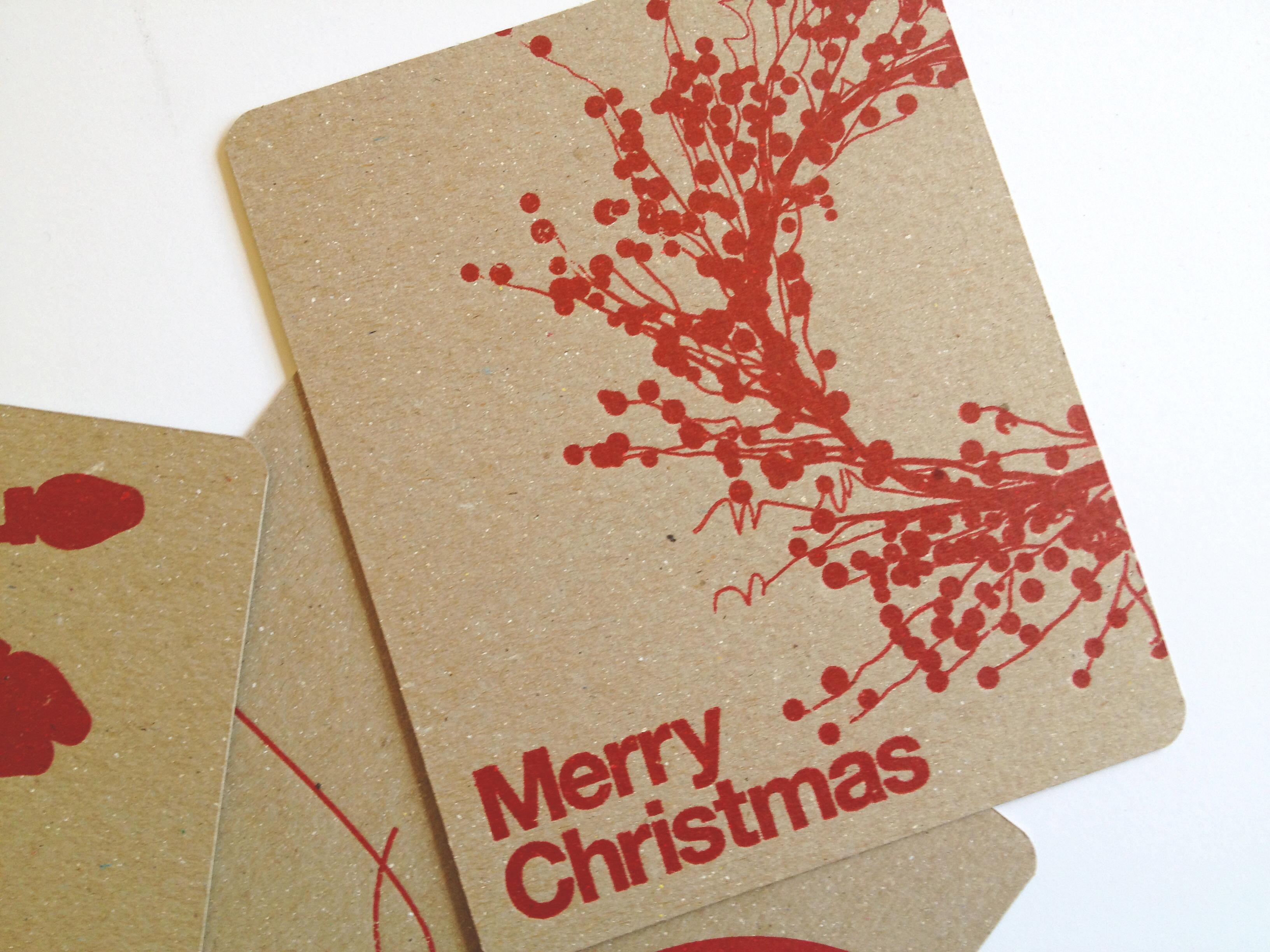 George Cuevas - Circa Letterpress - Christmas Cards