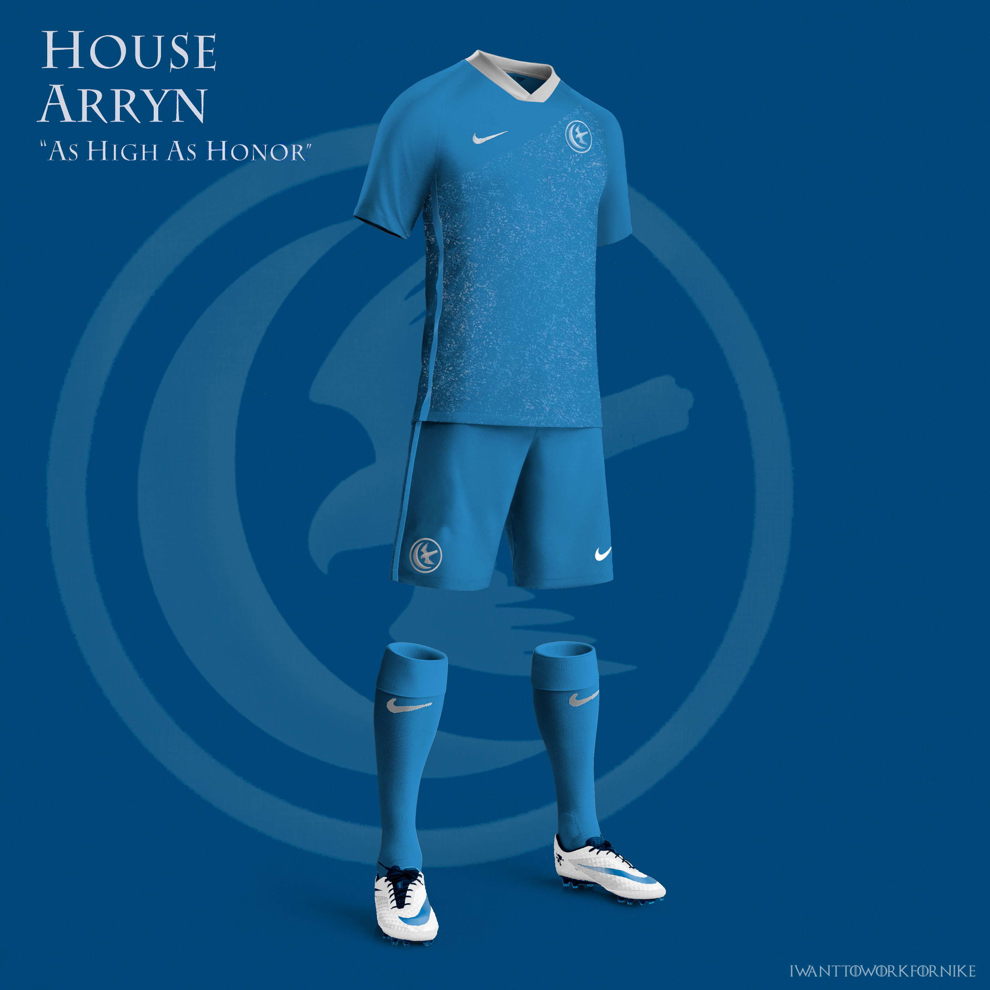Game of Thrones World Cup Nike concepts on Behance a994e5a00