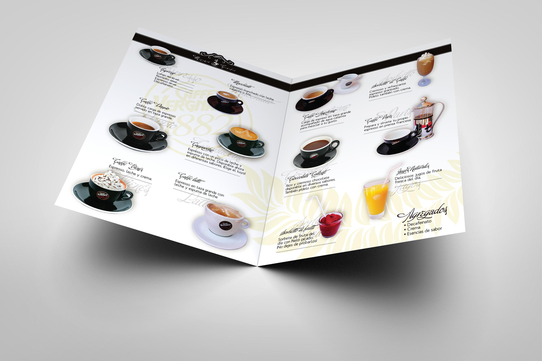 Marina Lavastrou - Illustrations, Art & Design - Menu Coffee