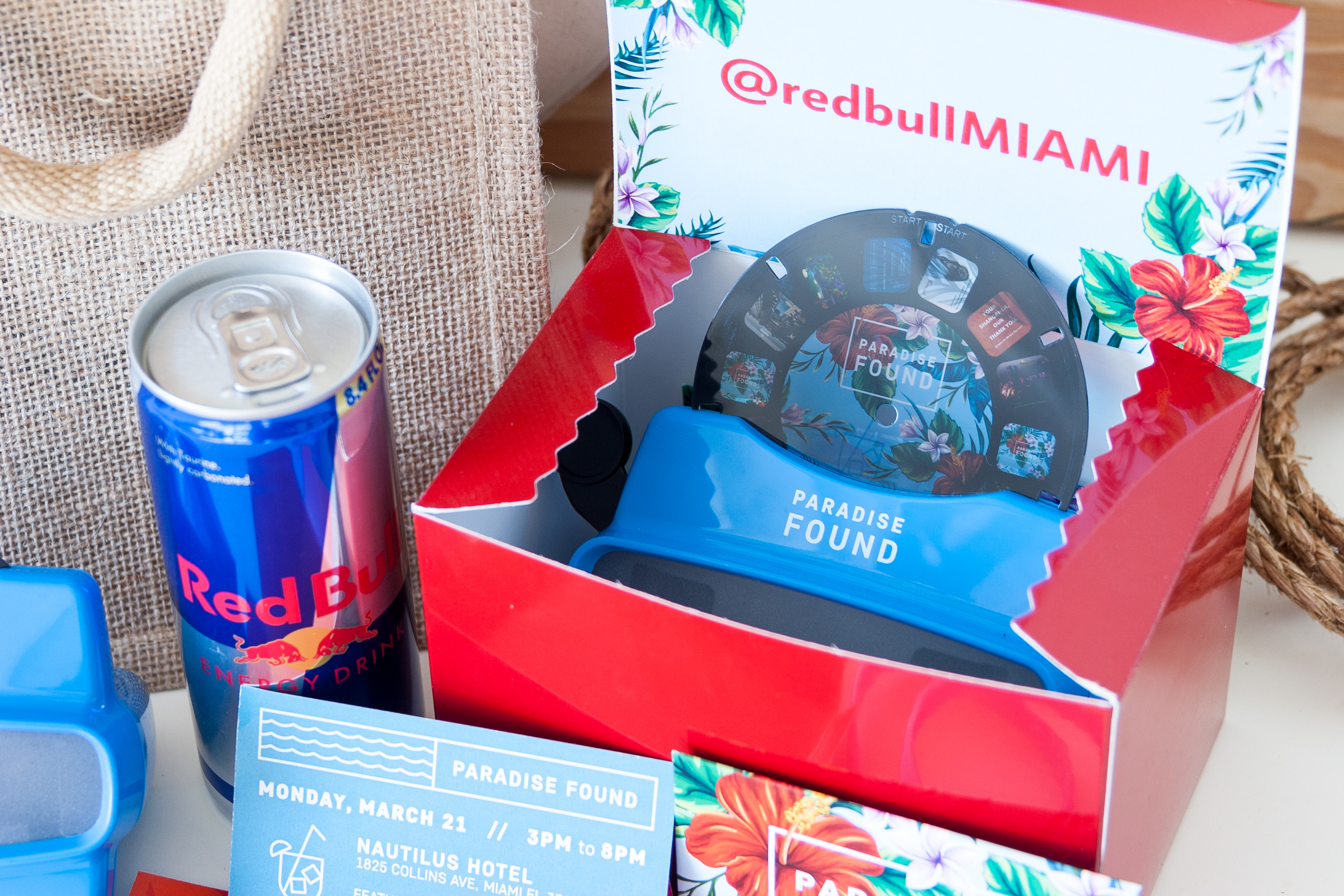 Red Bull VIP Mailer SuperMarket Creative