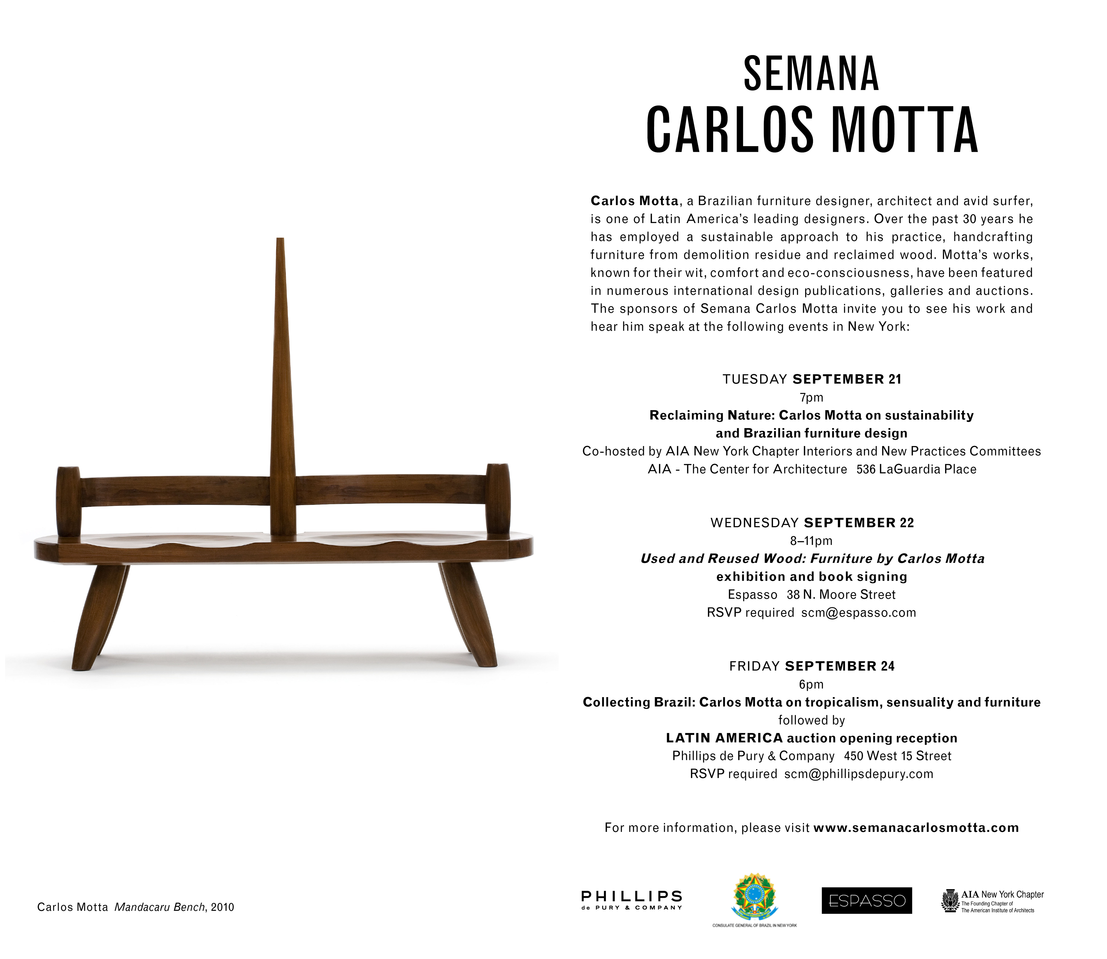 Adriana kertzer for Carlos motta designer