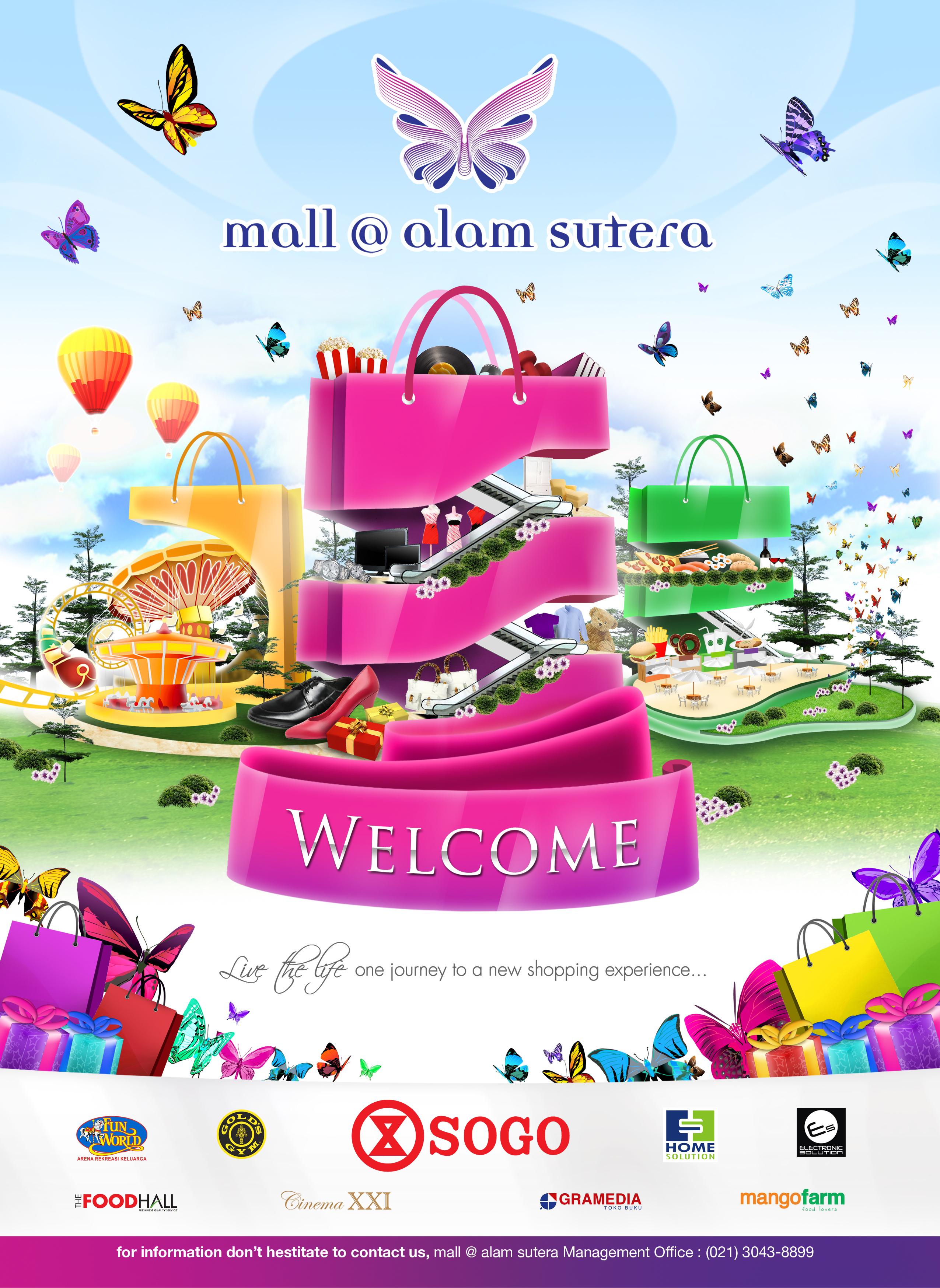 Mall alam sutera on behance altavistaventures Images