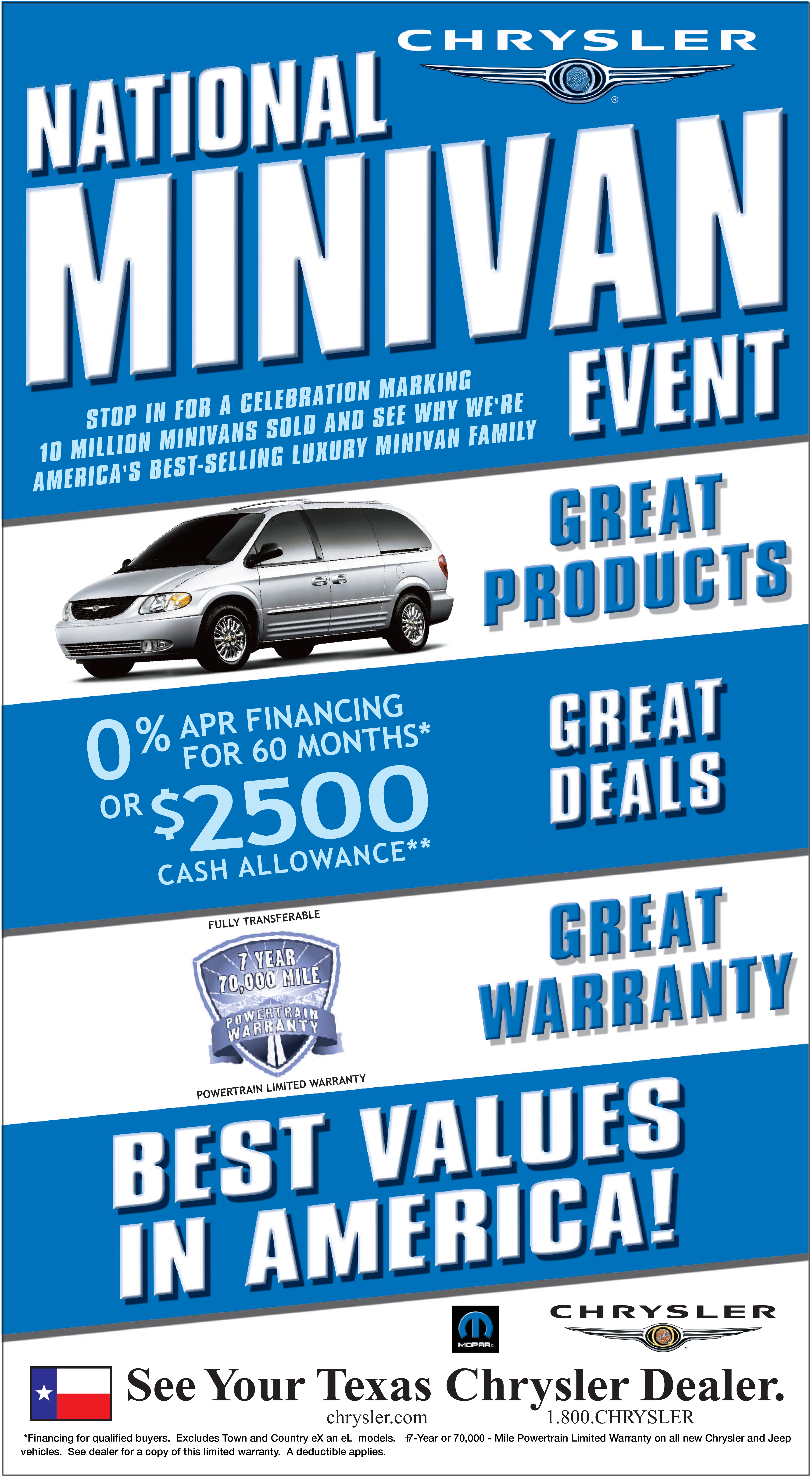 The Concentrium Chrysler Jeep Newspaper Ads