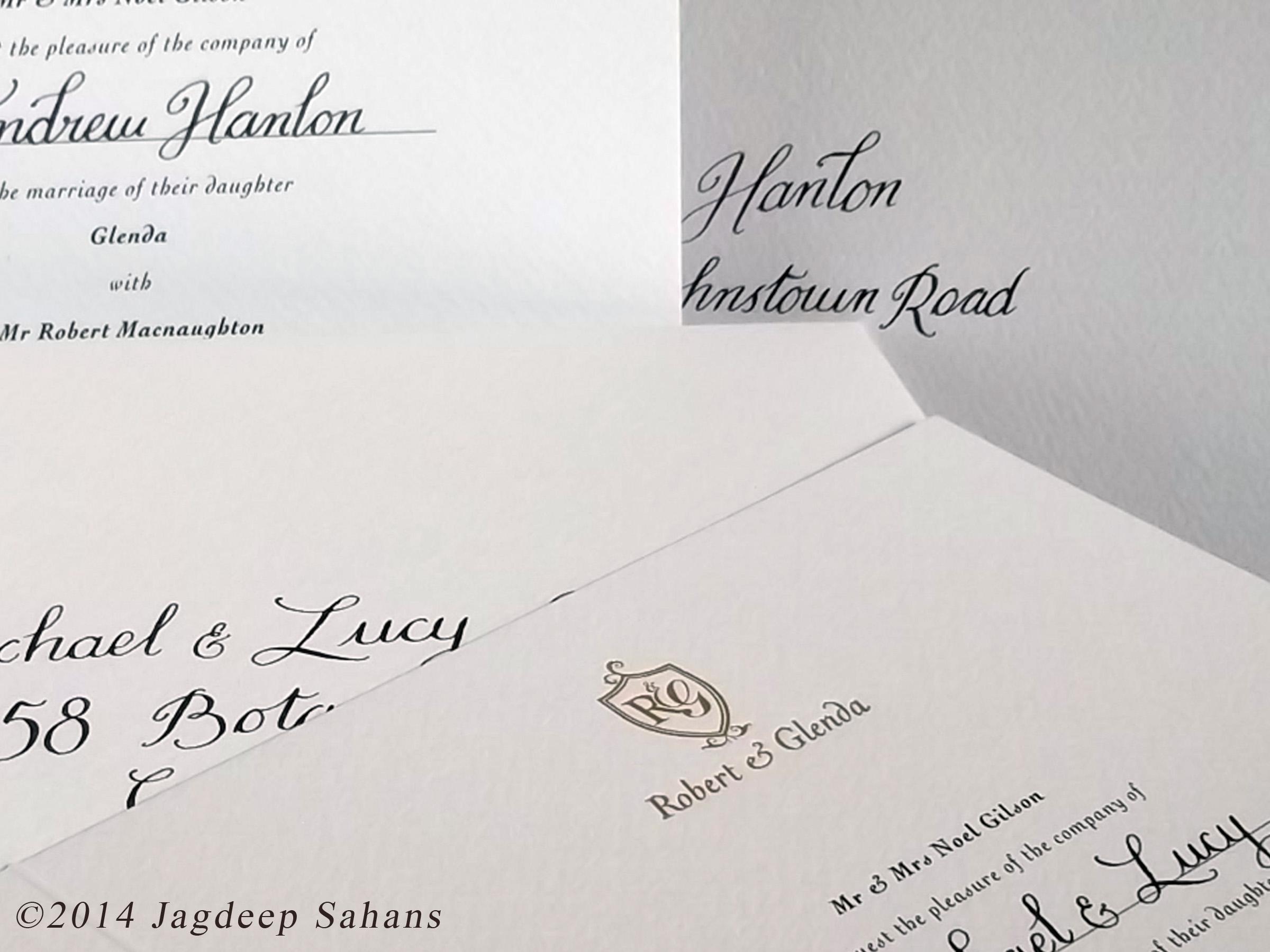 Calligraphy for Weddings. on Behance