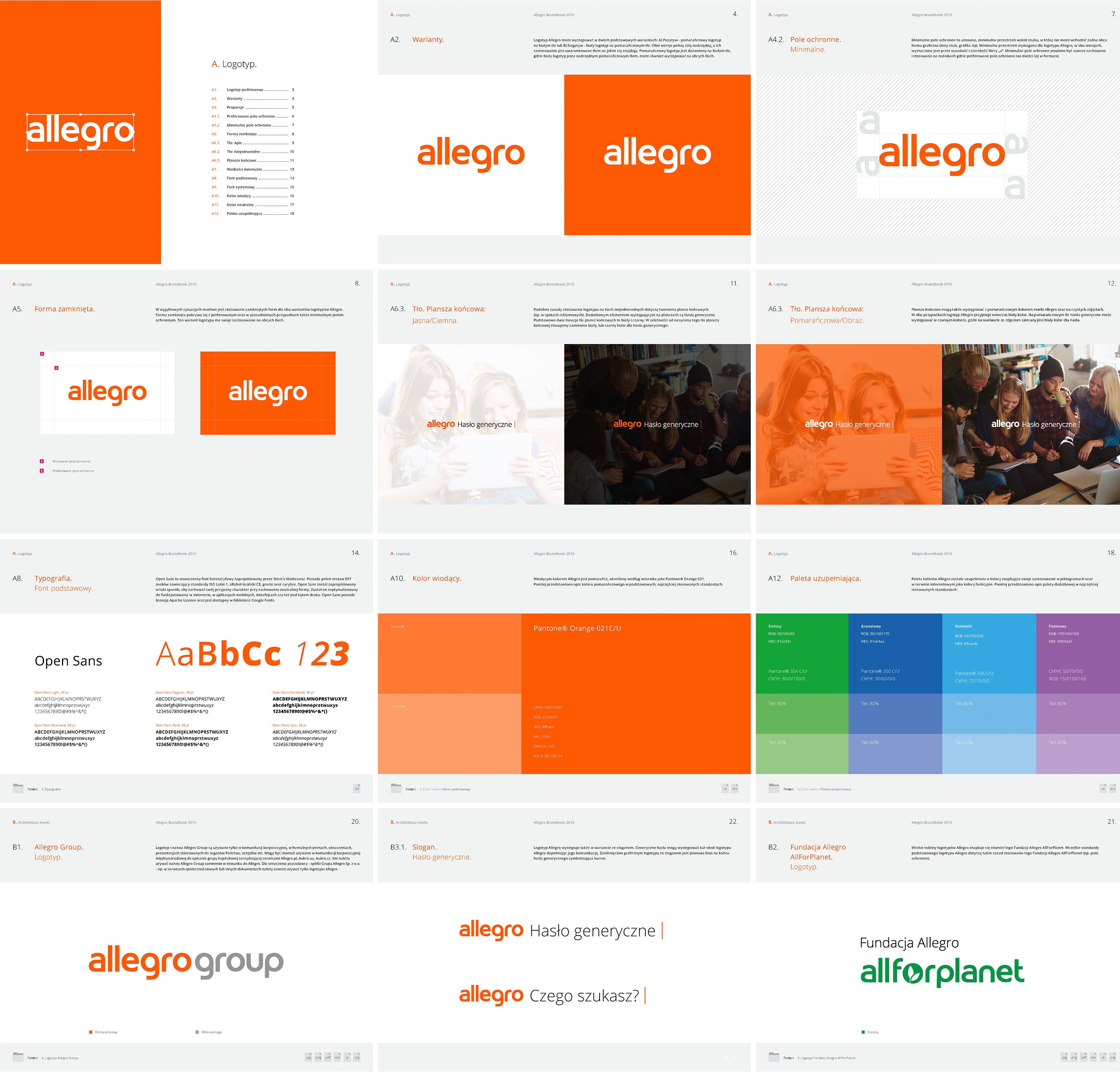 Allegro on Behance