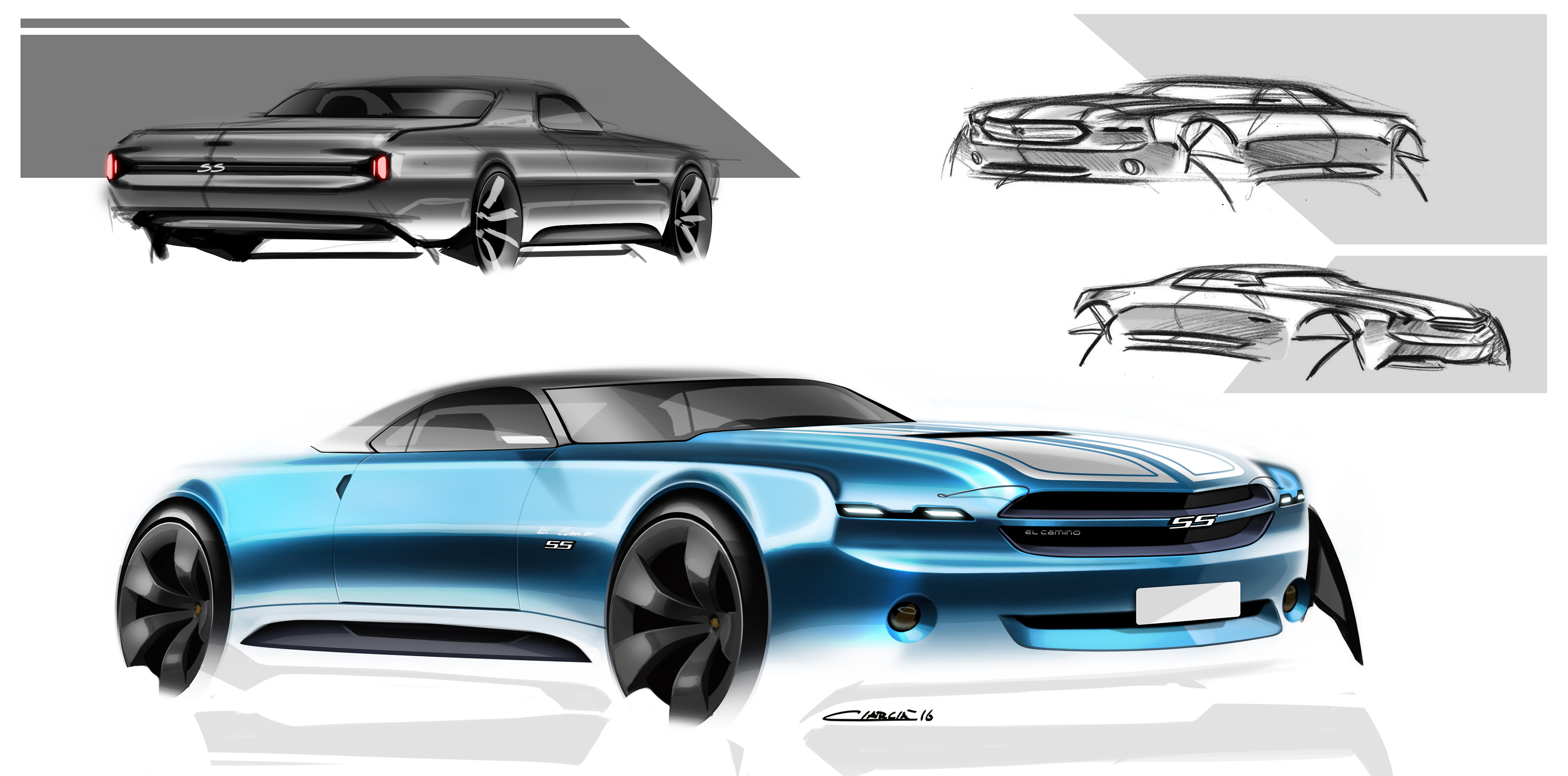 Muscle Cars Pt 2 On Behance