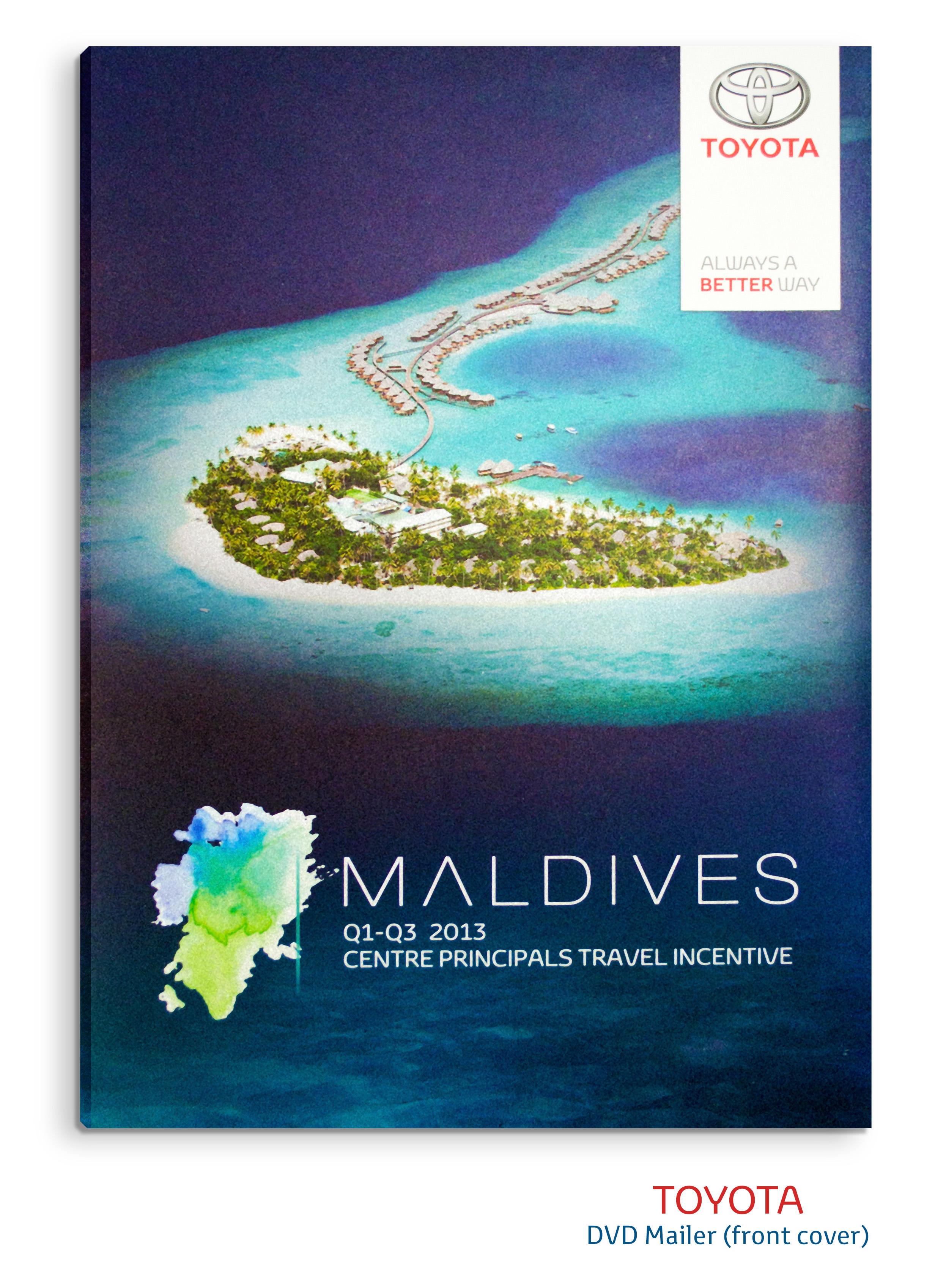 toyota for maldives