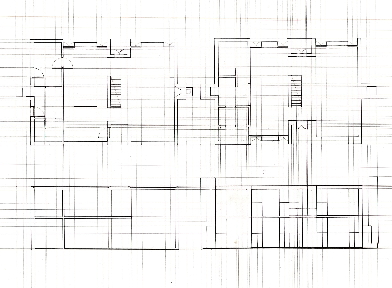 Plan Esherick House House And Home Design