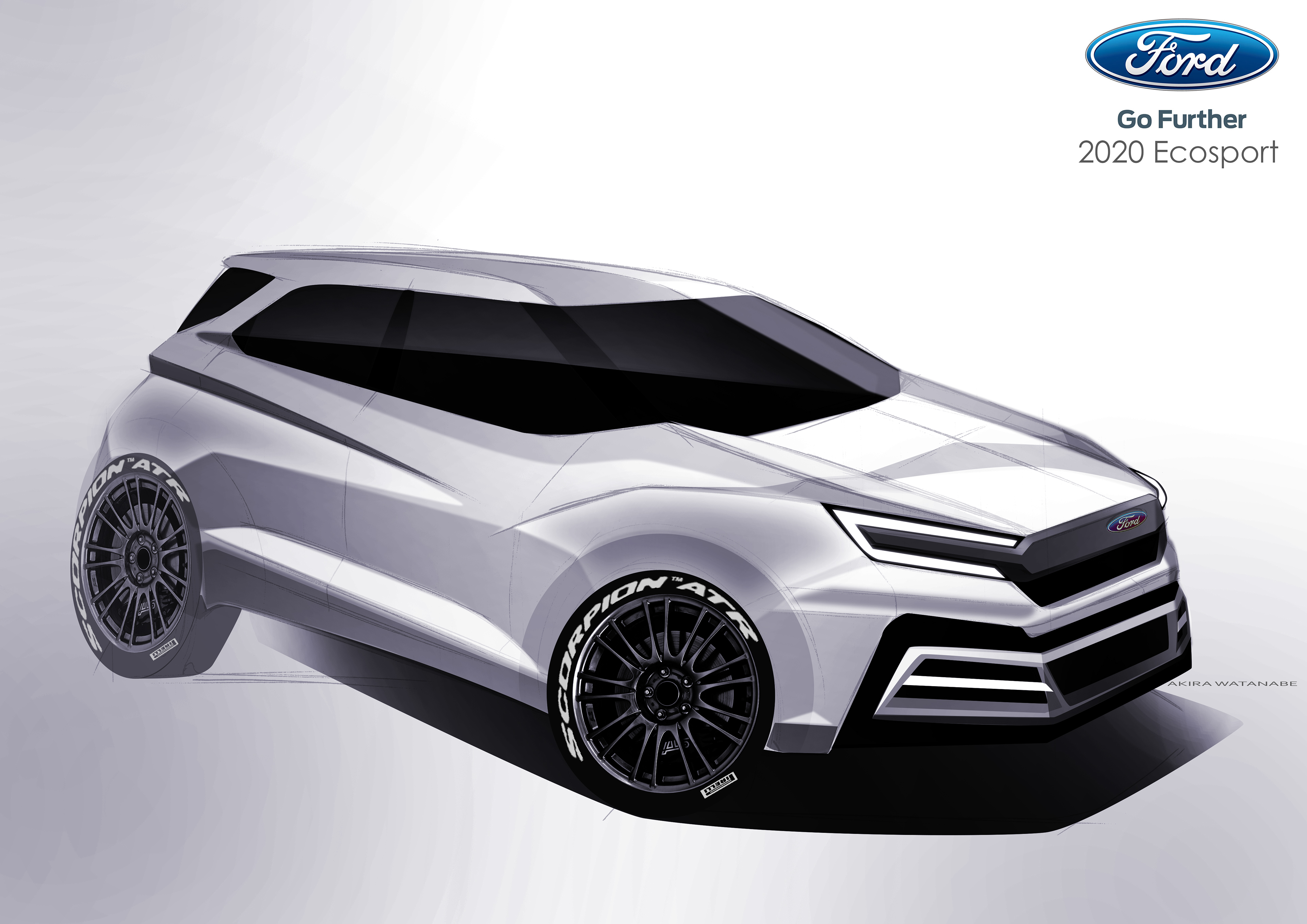 2020 ford ecosport on behance