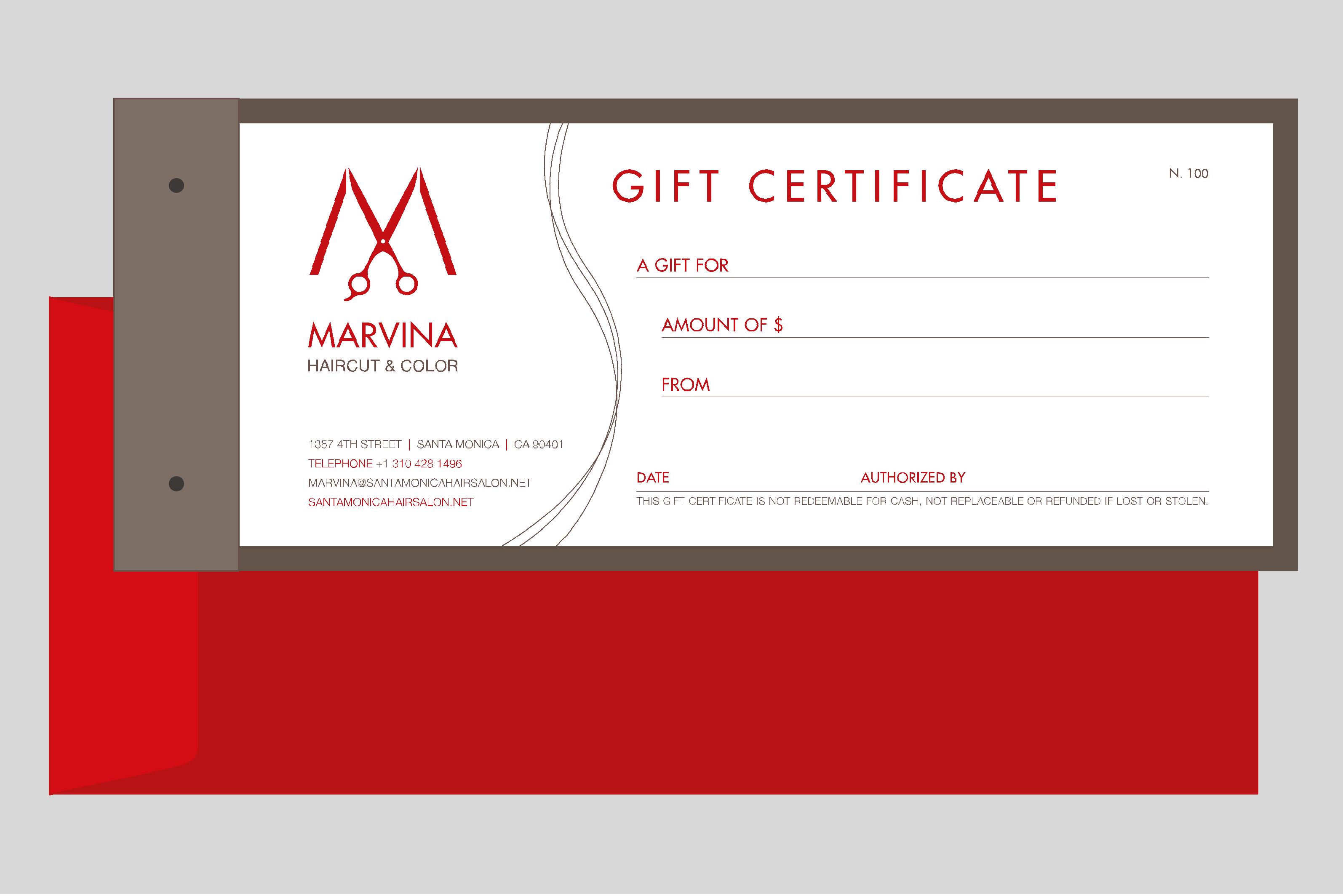 marvina haircut logo design on behance
