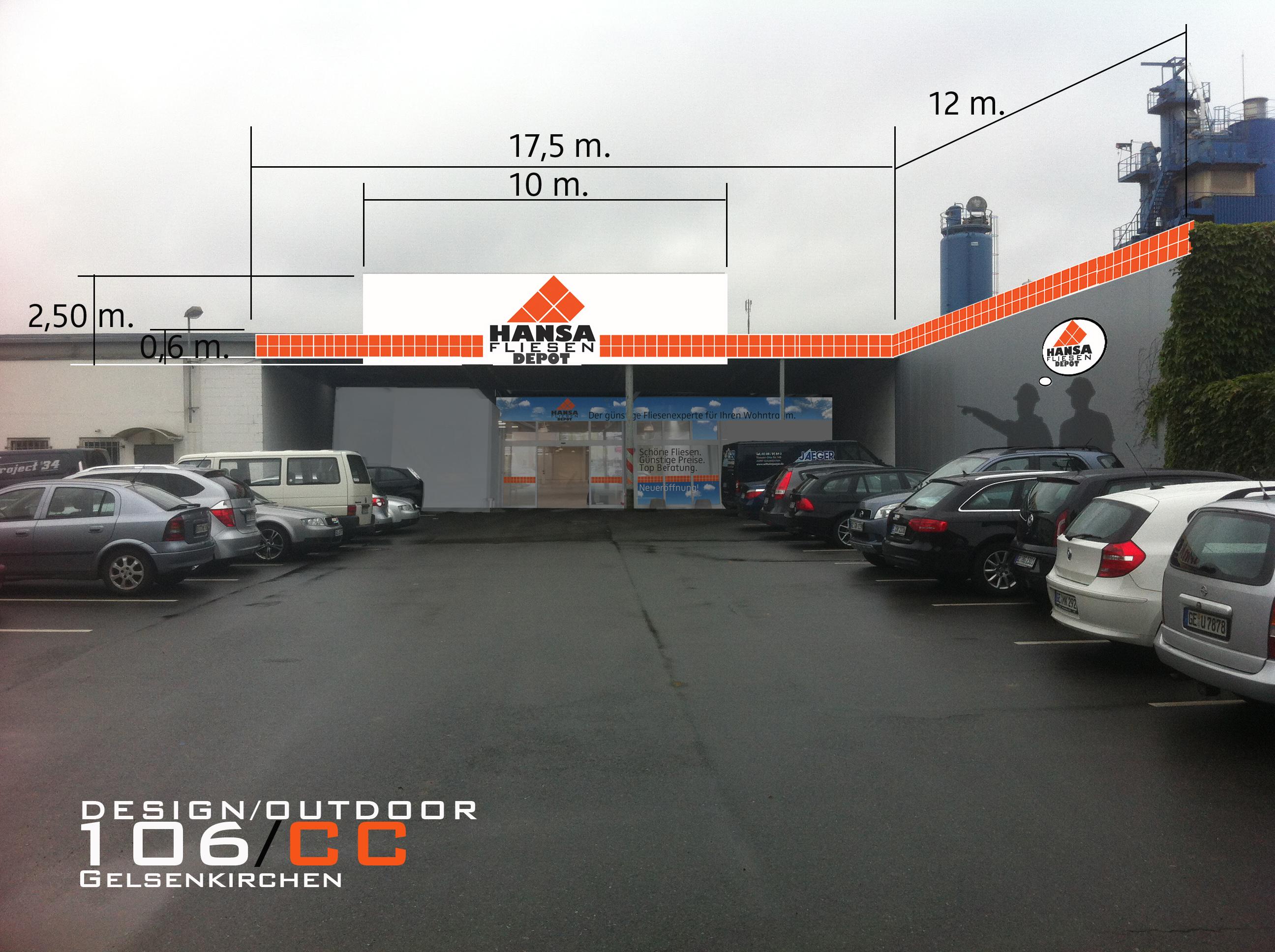 Hansa Fliesen Depot Gelsenkirchen Germany On Behance