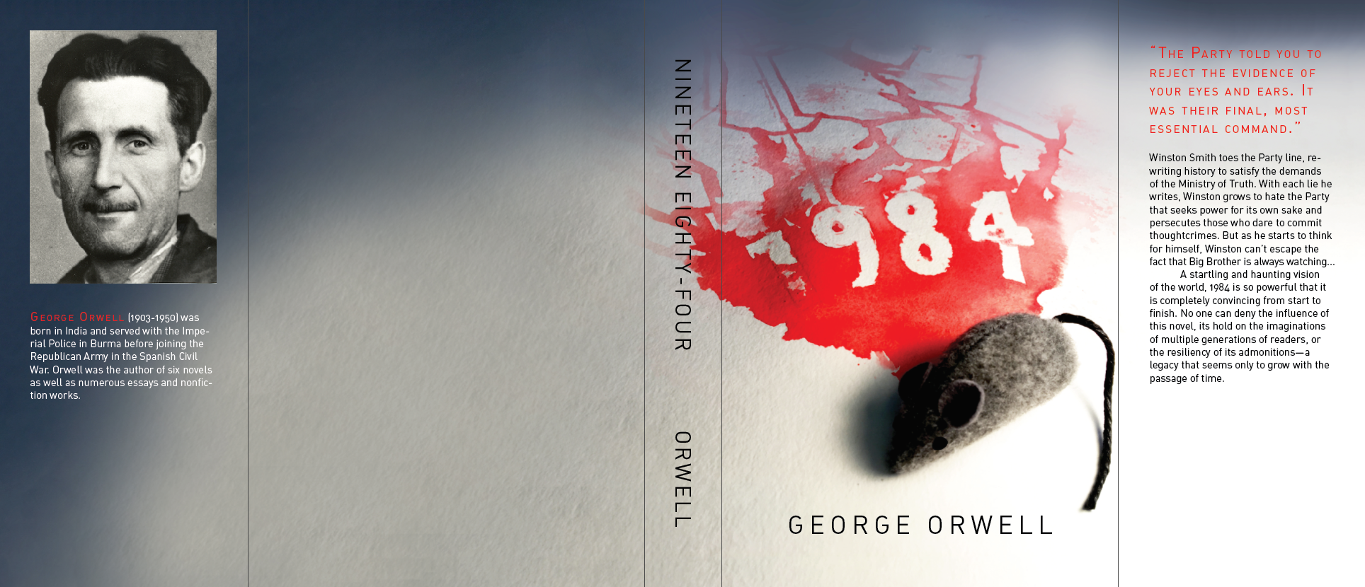 1984 Book Jacket On Behance