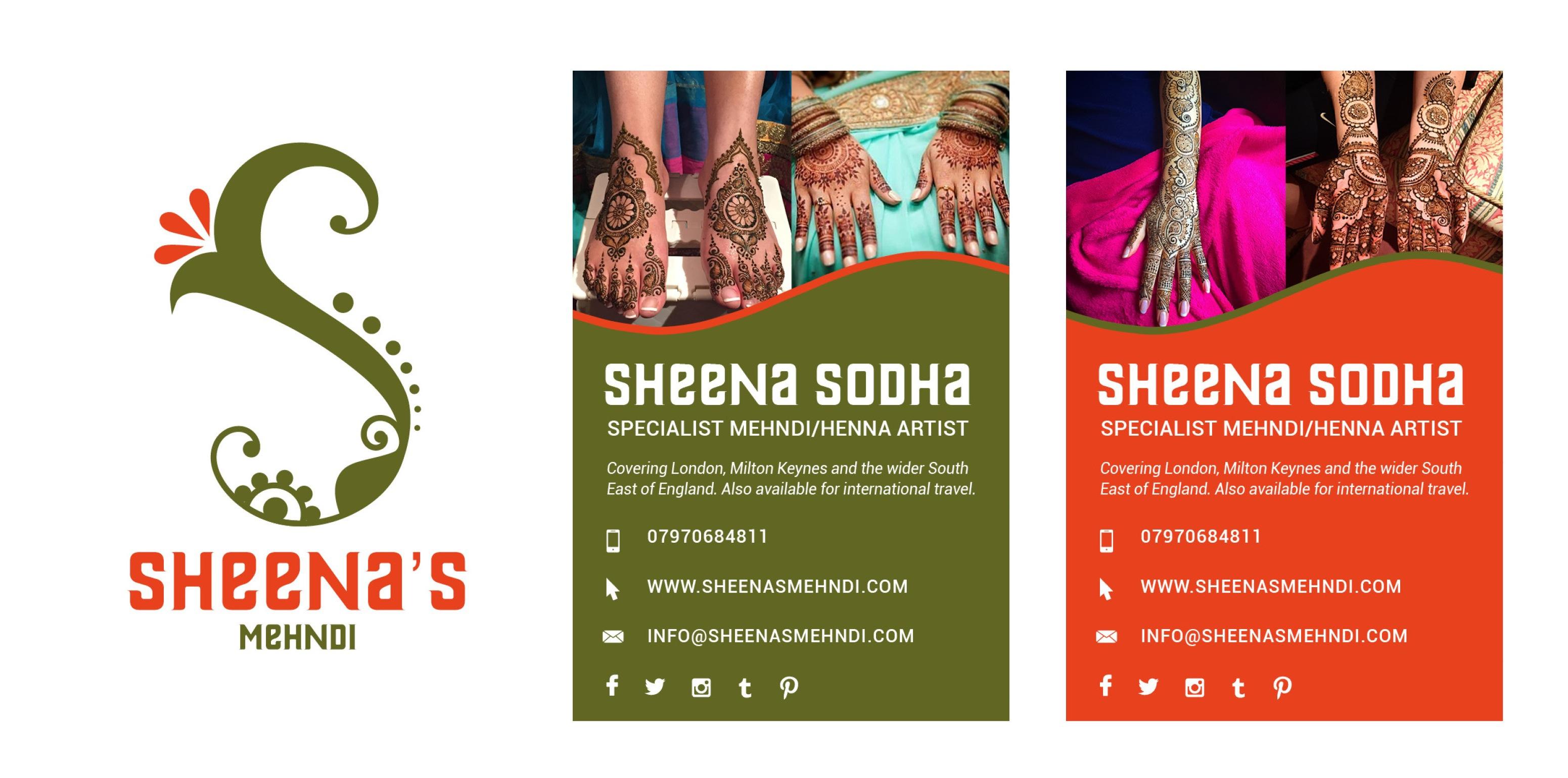 Sheena S Mehndi On Behance