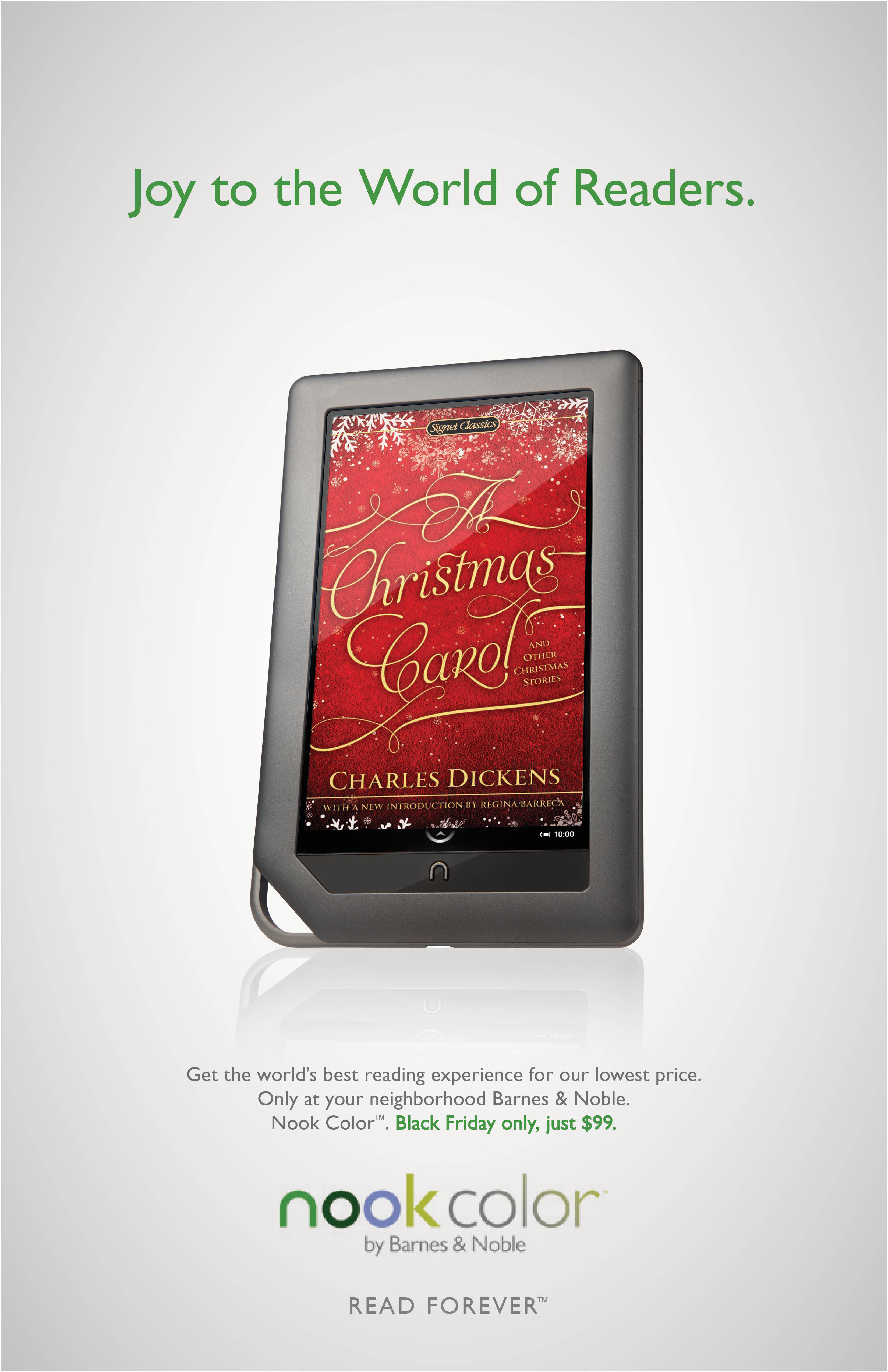 Barnes & Noble NOOK - Black Friday on Behance