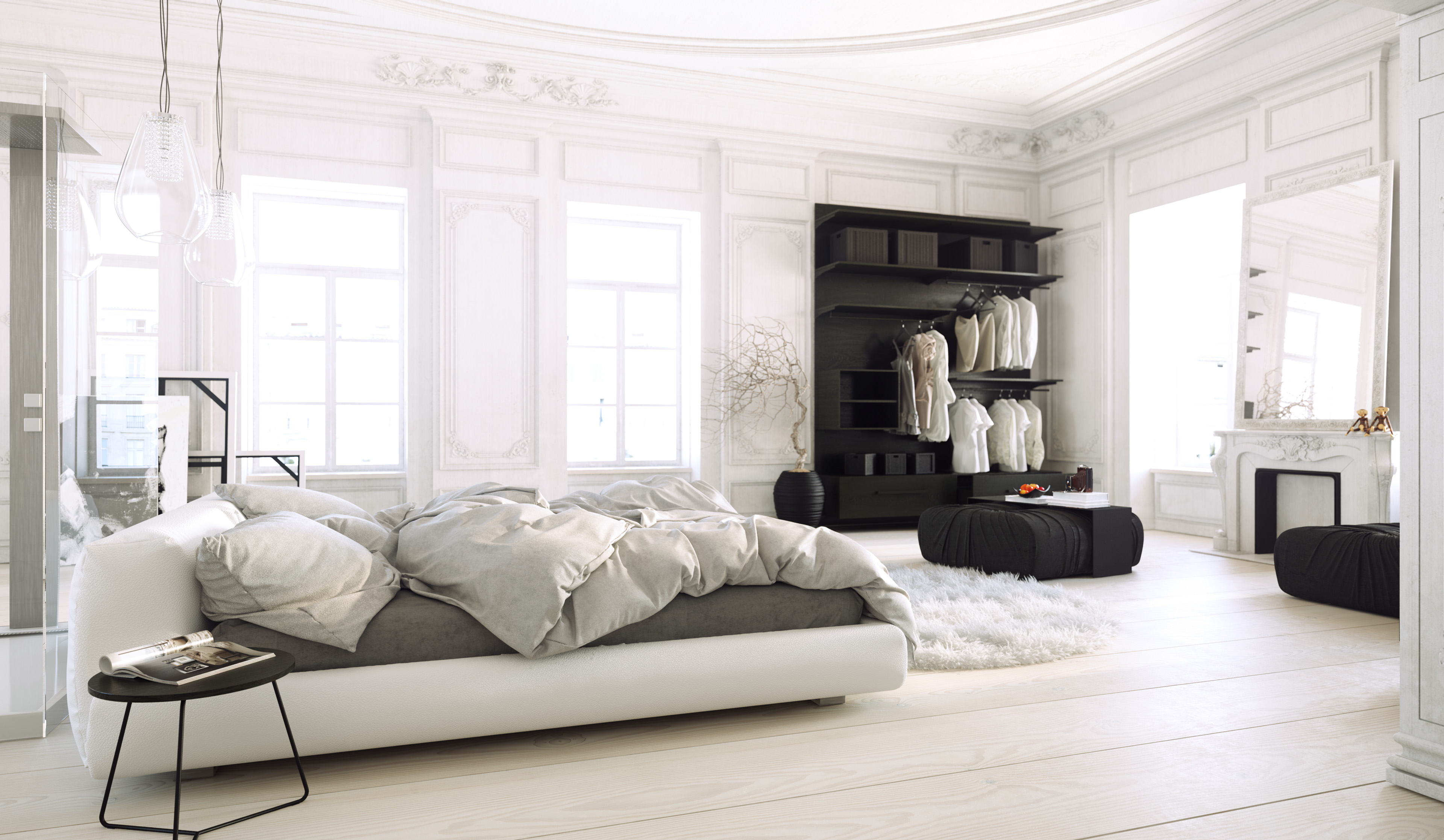 White Bedroom MarvelousDesigner tutorial for