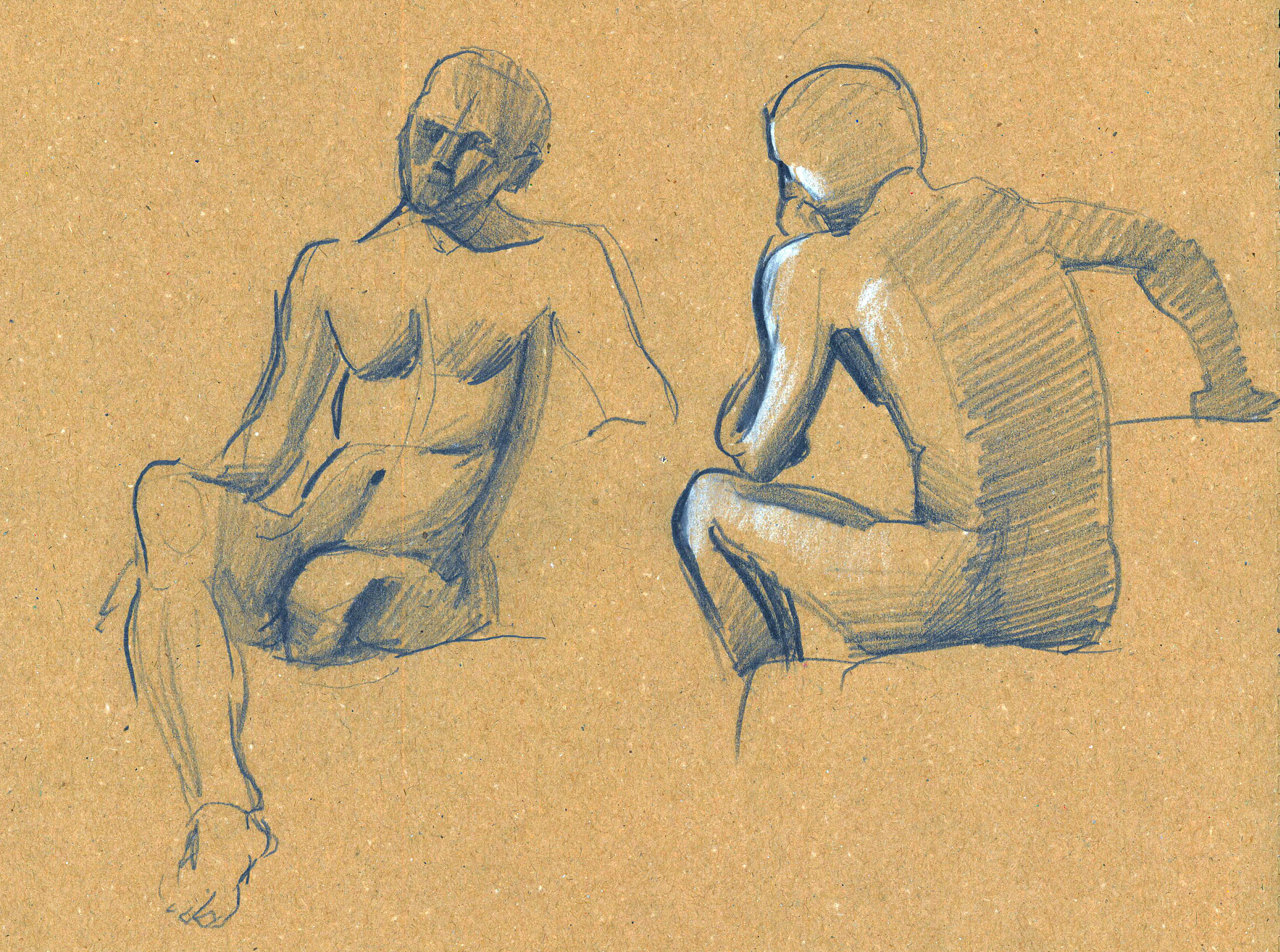 Human Body Sketches On Behance