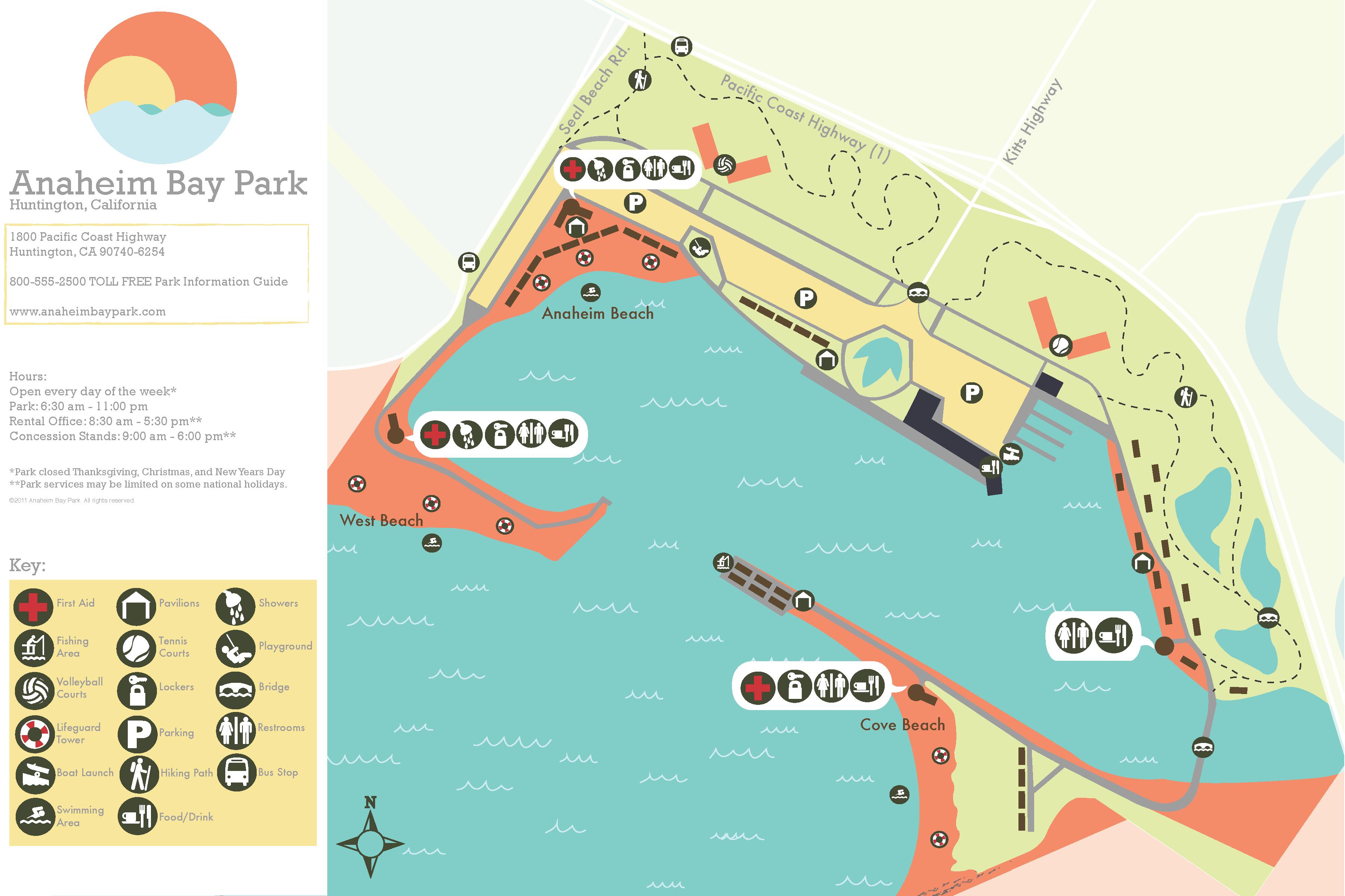 Anna Vecchi Anaheim Bay Park Map