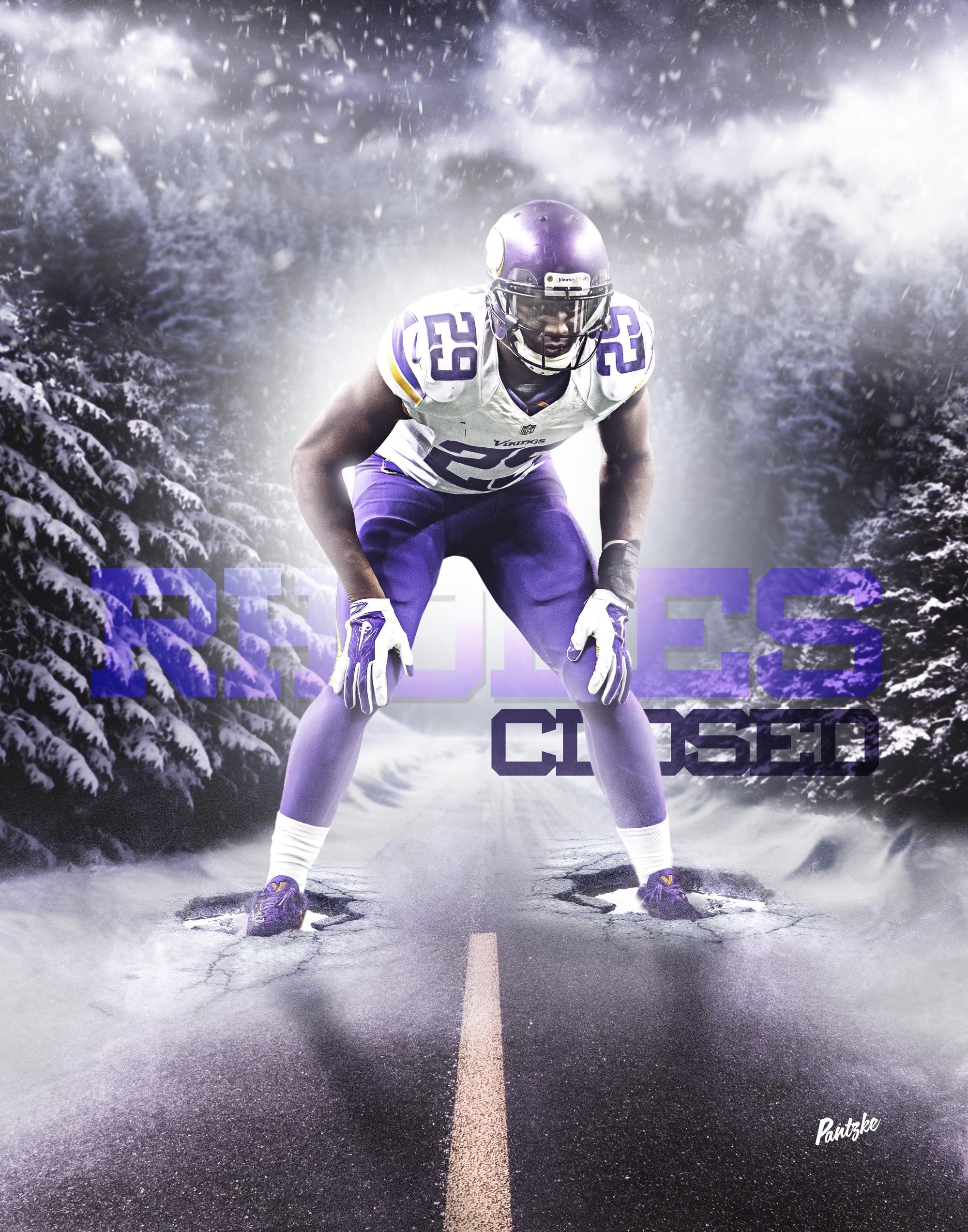 Rhodes Closed Xavier Rhodes Viking CB on Behance