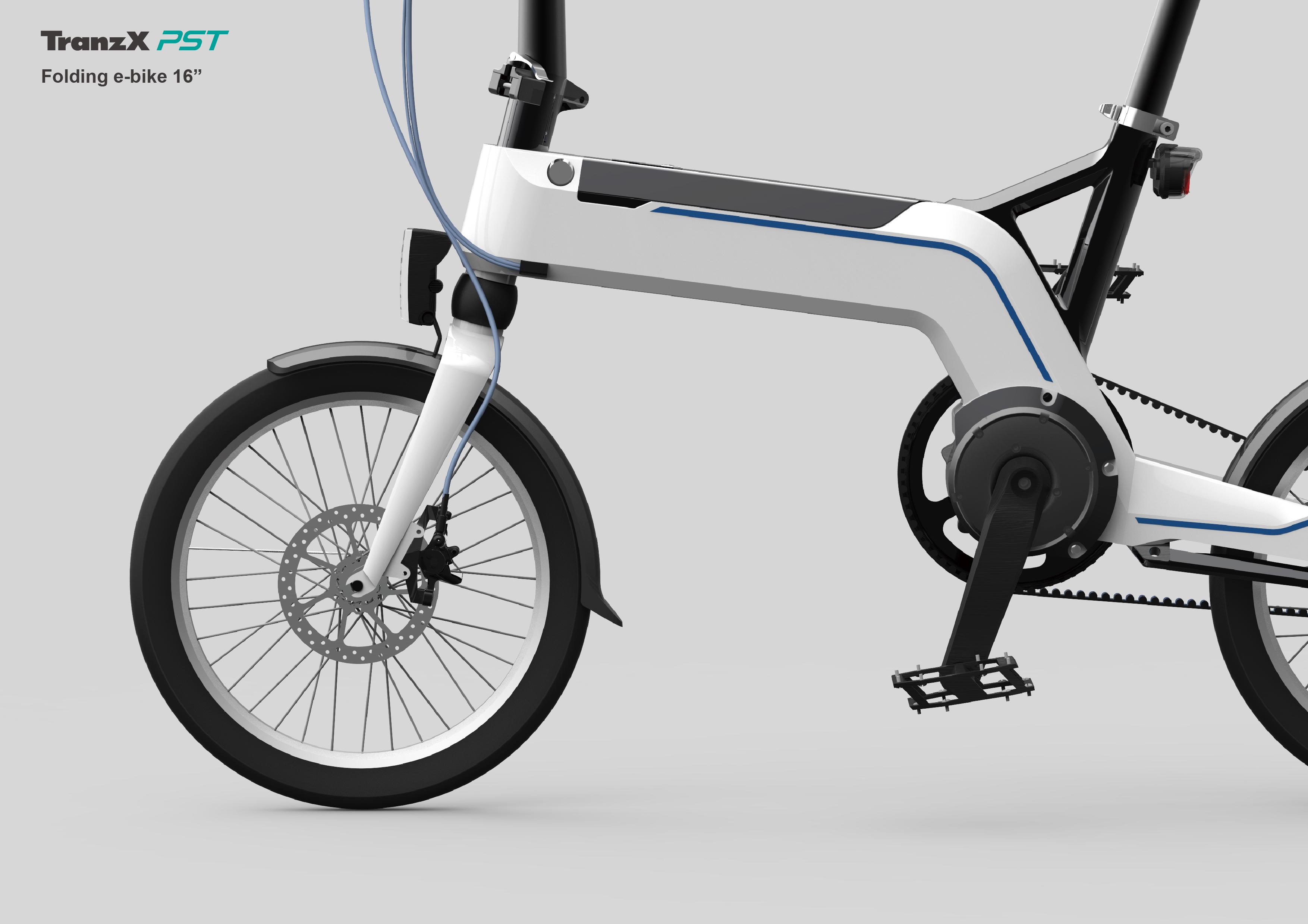Tranzx Works Folding E Bike 16 On Behance