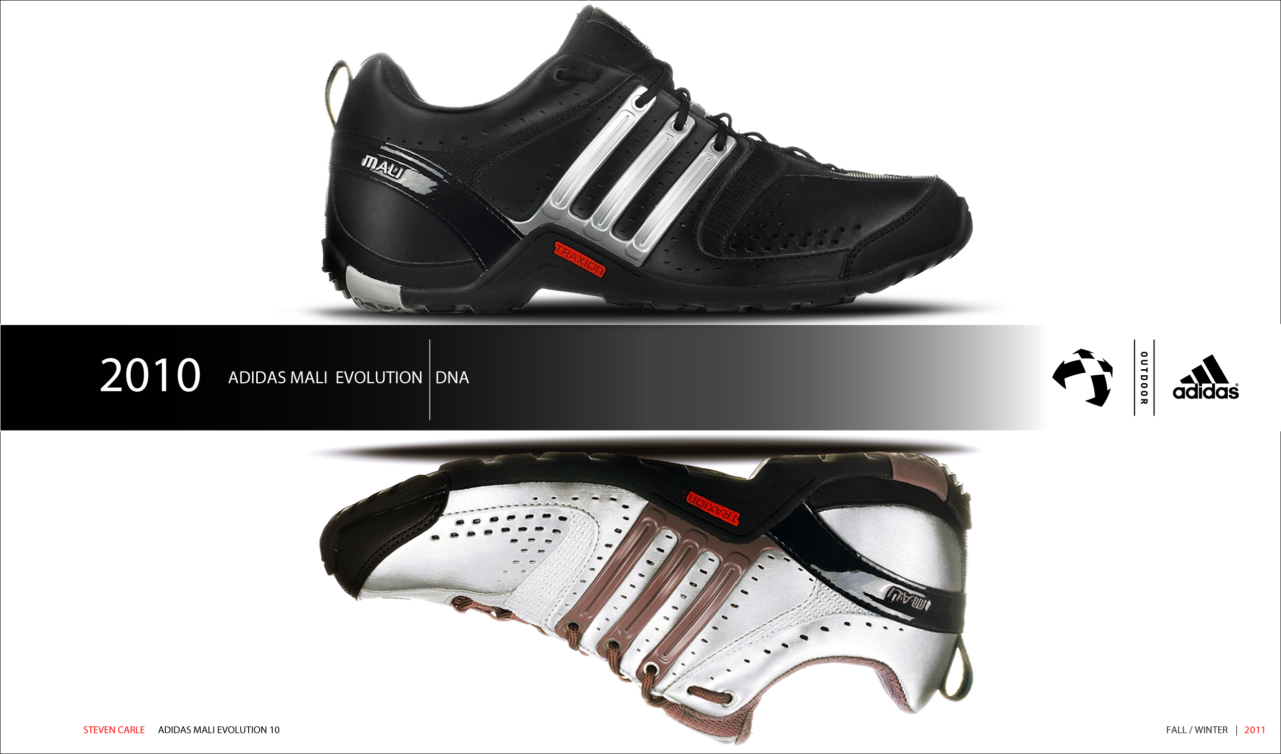ccef36c7d0c Adidas Mali Evolution 2010 on Behance