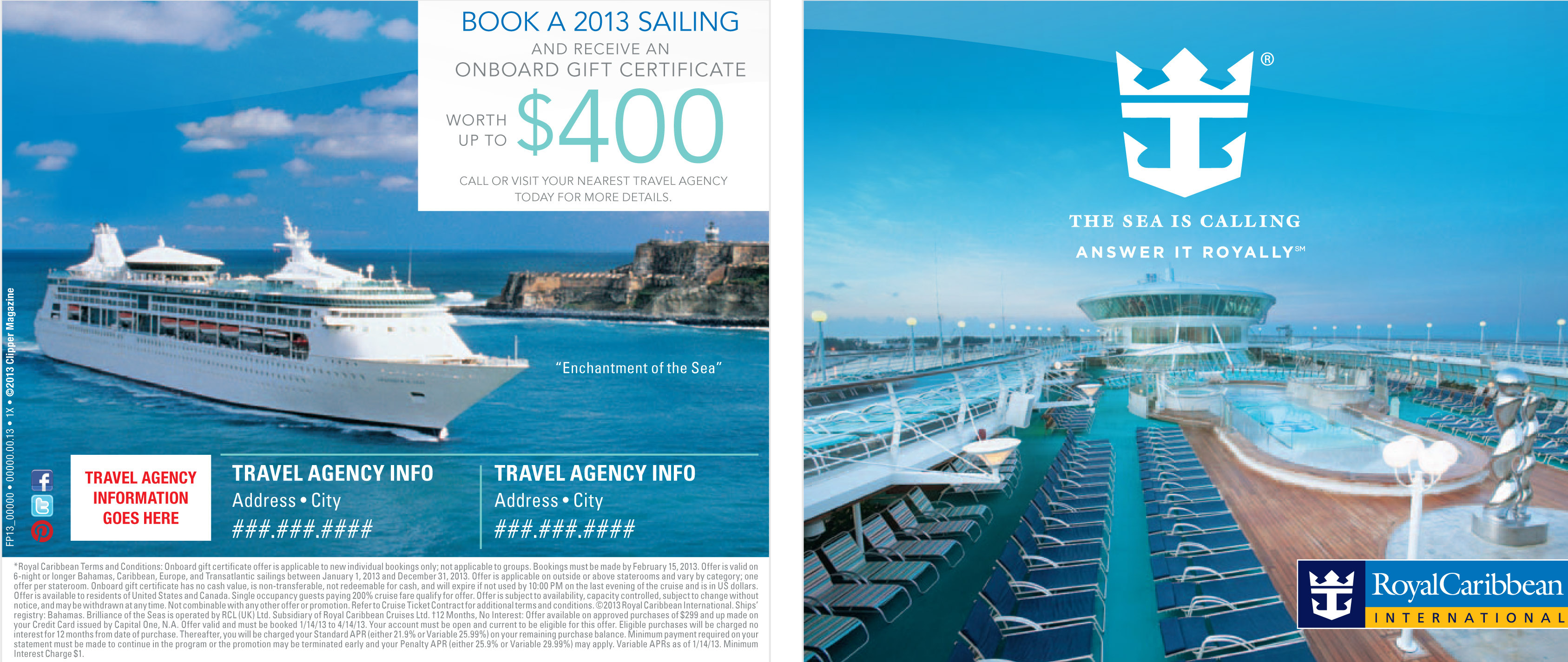 Royal Caribbean Ad Campaign On Behance