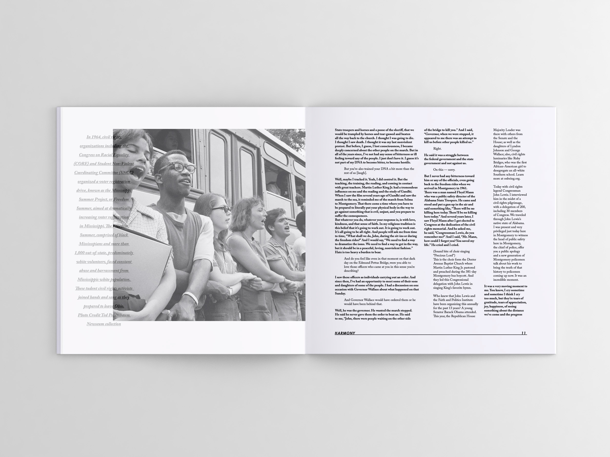jessamyn rieke this catalog is designed a typography focus and features different essays and speeches on nonviolence