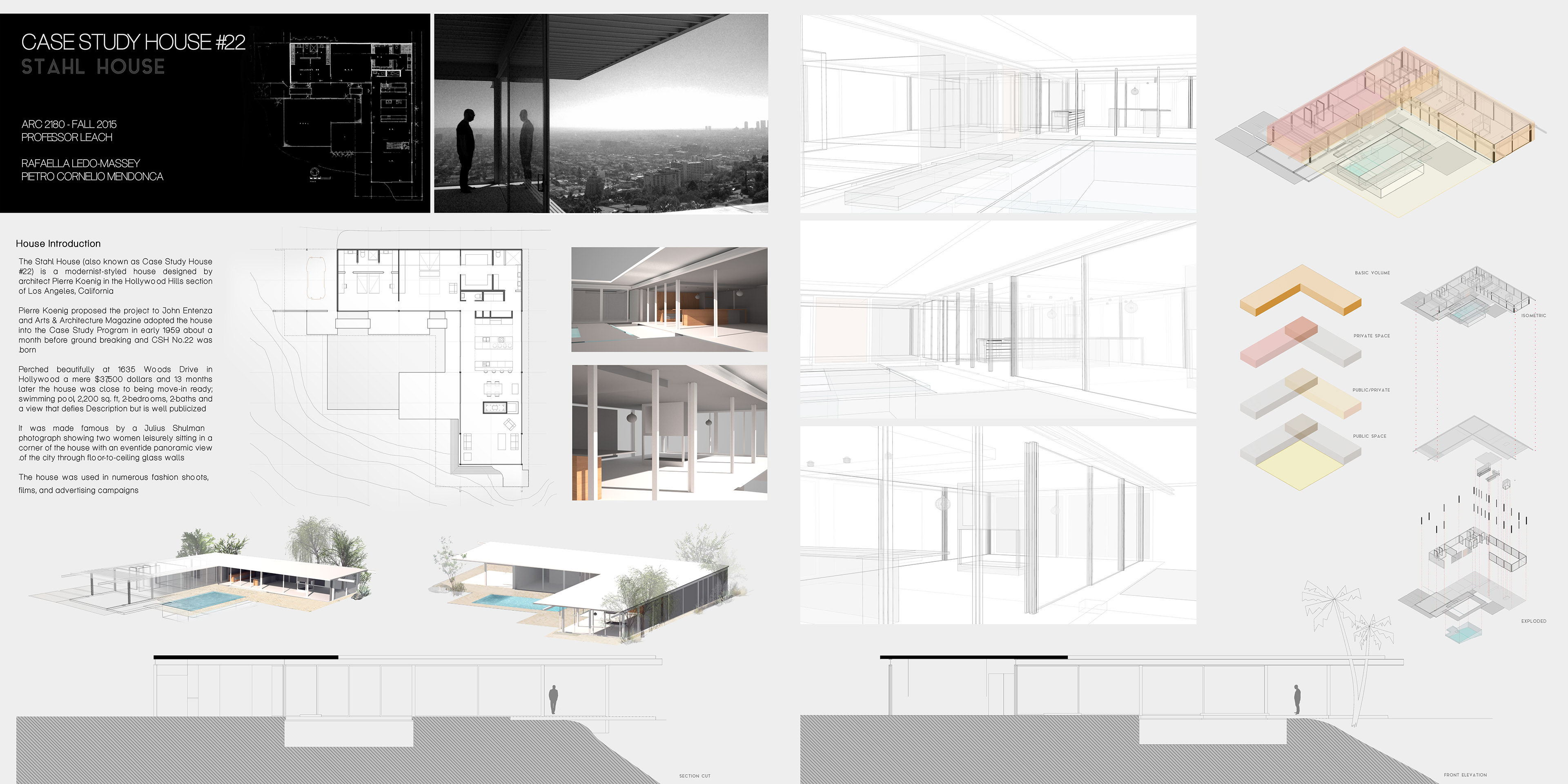 Surprising Stahl House Floor Plan Images - Best Ideas Exterior ...