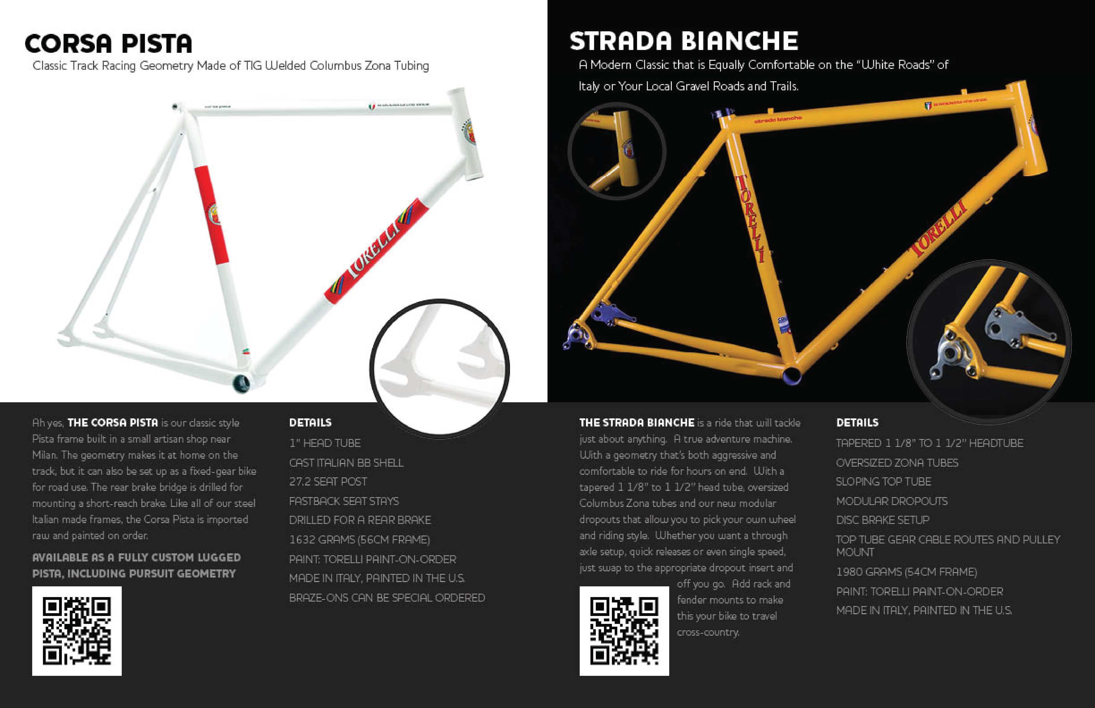 Torelli Frame Catalogue 2016 On Behance Bicycle Diagram The Of Is