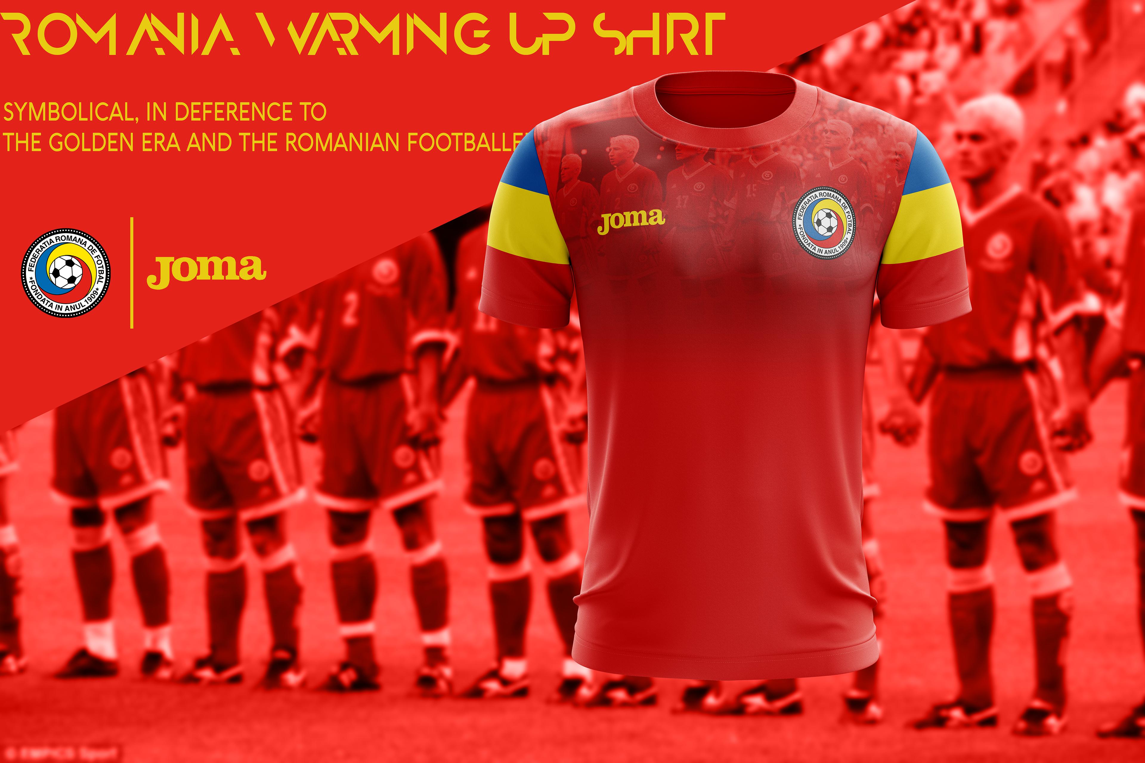 Romania x Joma - 2017-18 kits on Behance ffb8bdb5e
