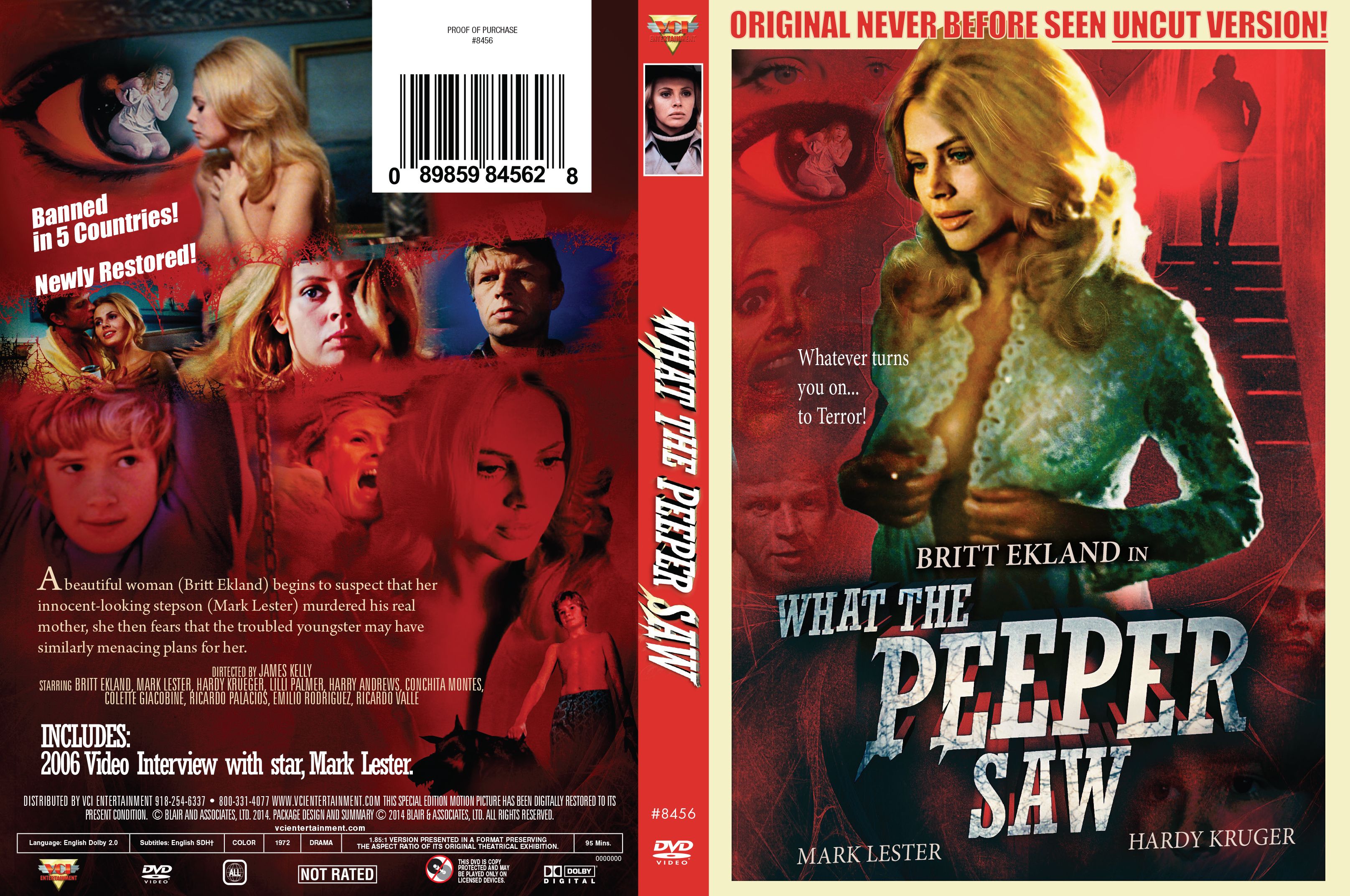 What the peeper saw uncut