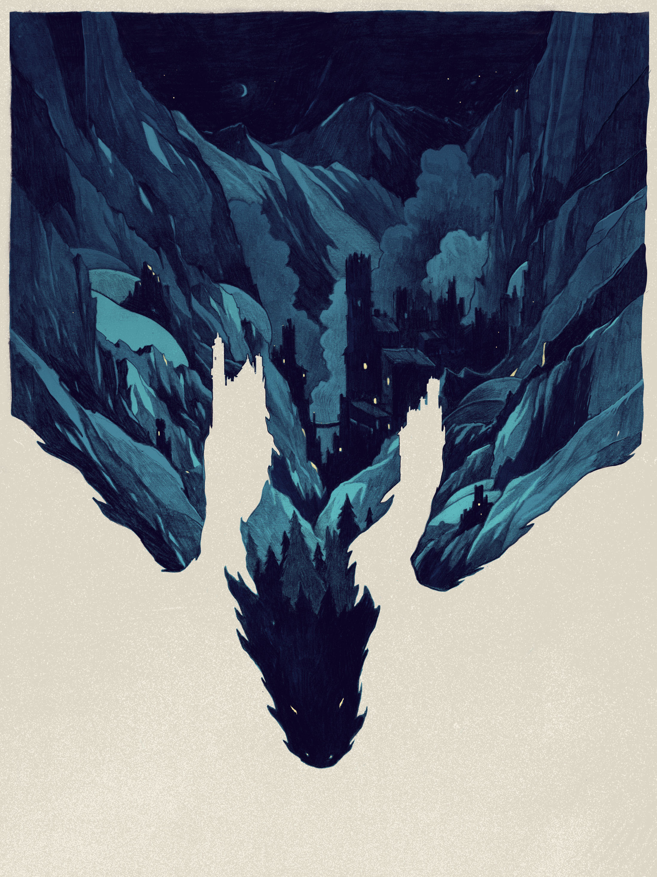 Mysterious Illustrations by Simon Prades