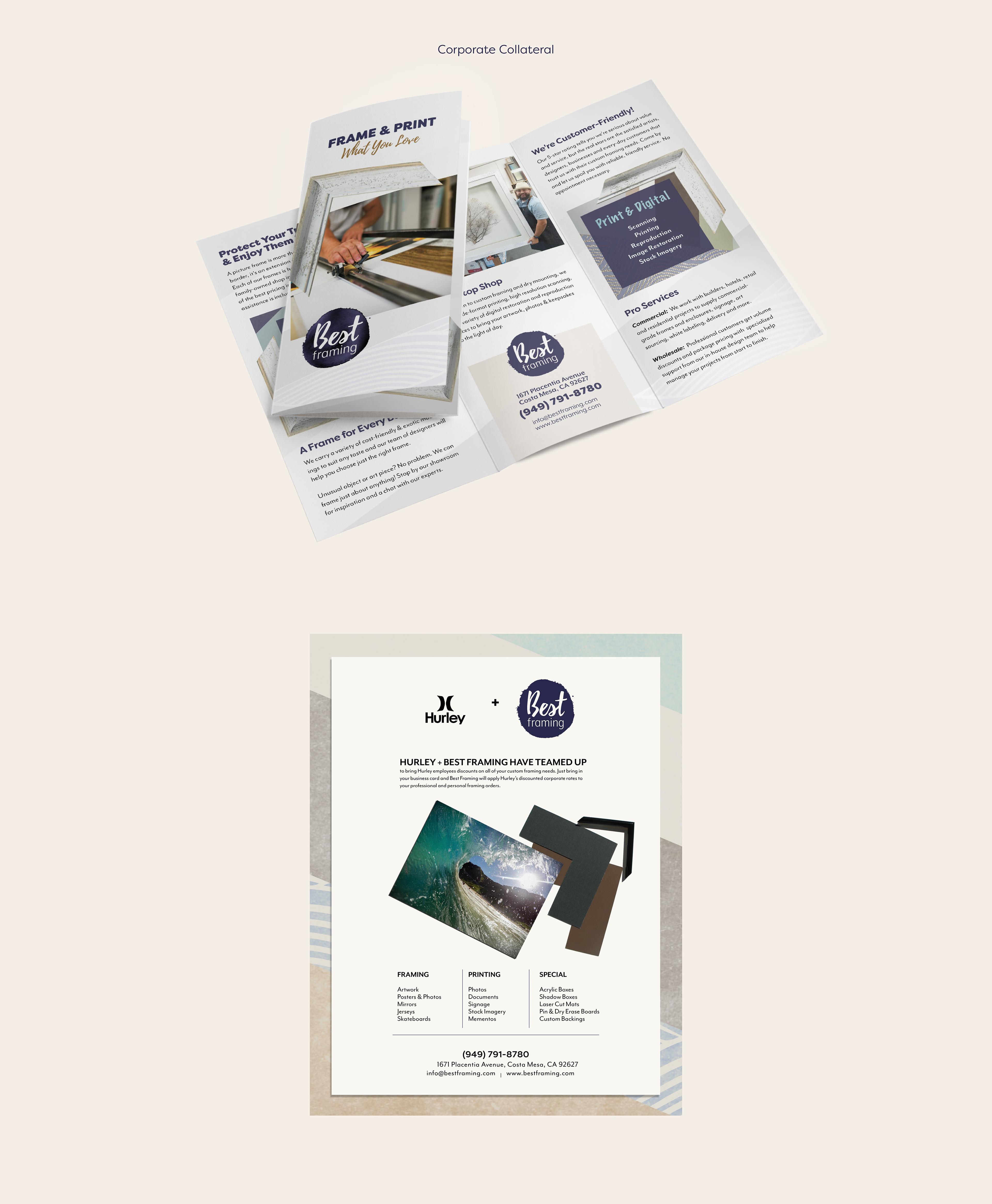 Best Framing :: Branding & Design on Behance
