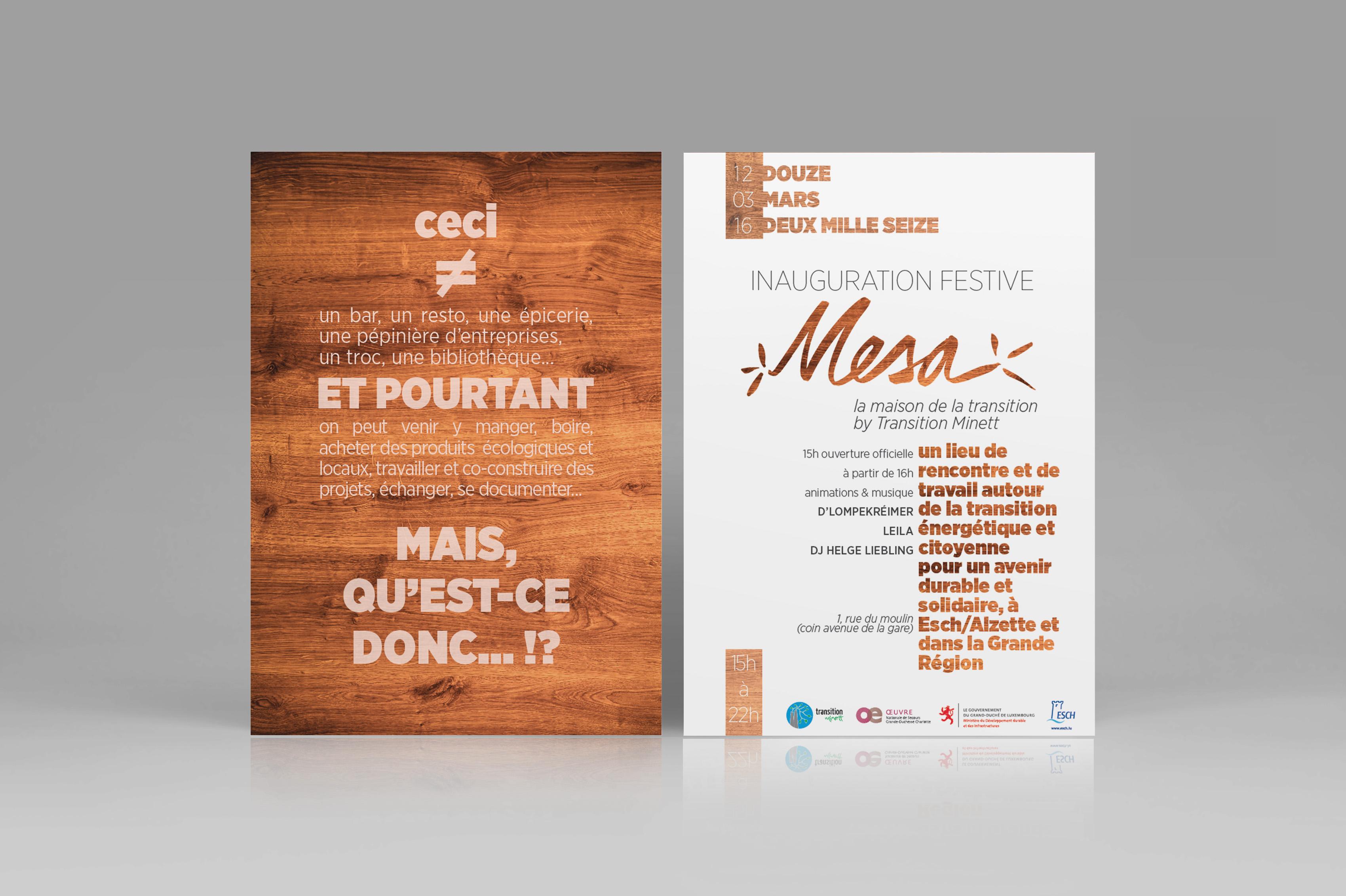 Mesa Visual Identity On Behance