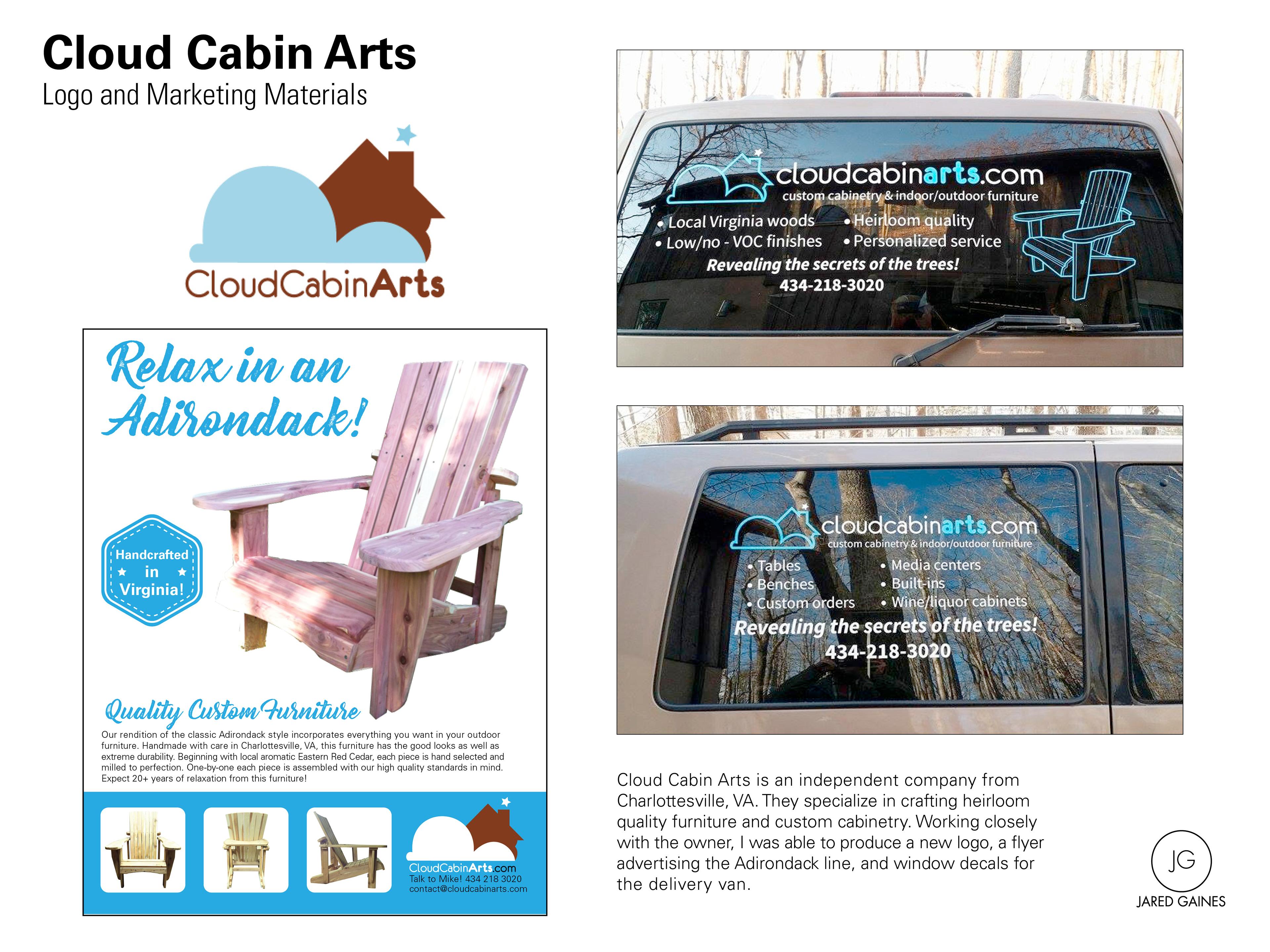 Cloud Cabin Arts On Behance