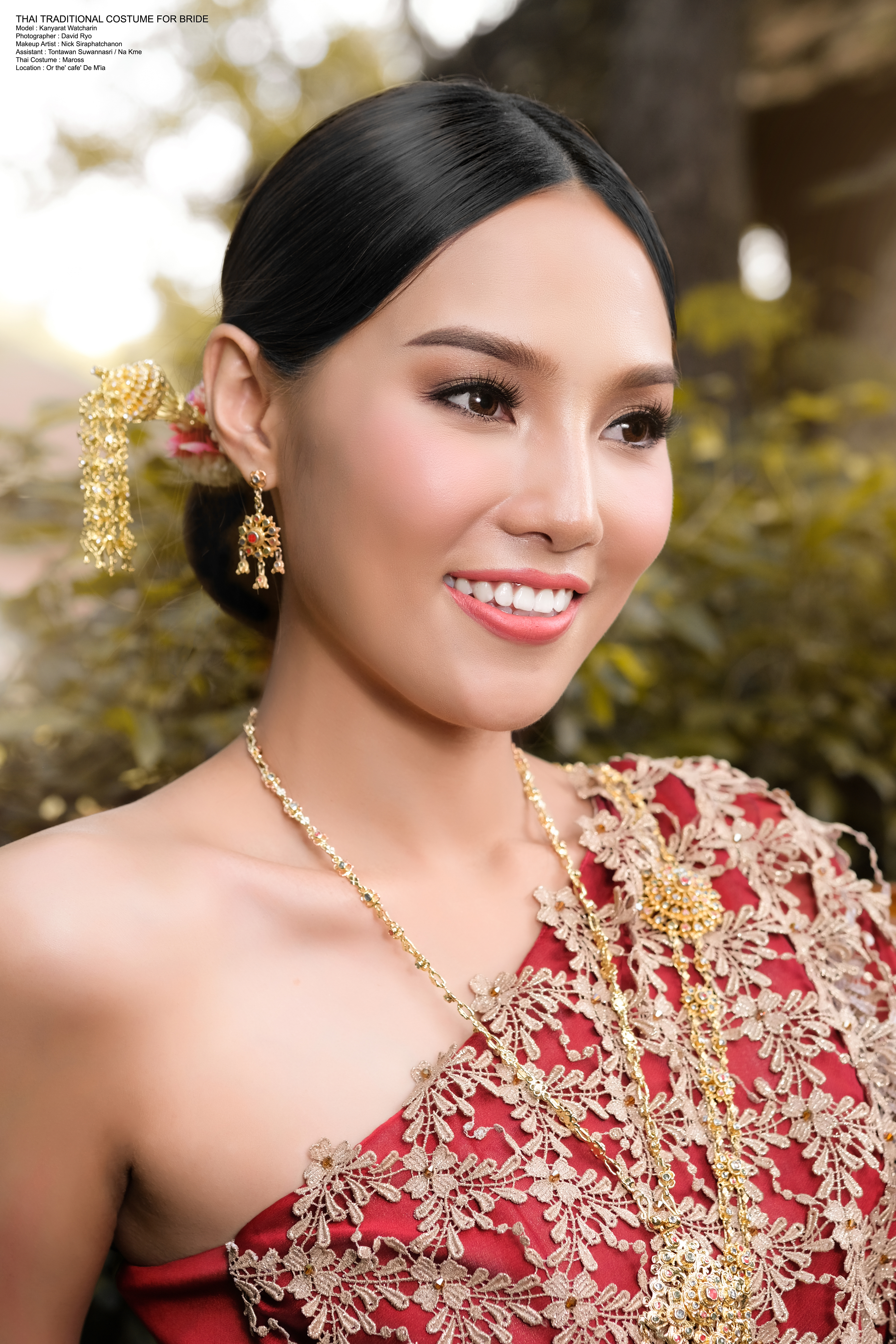 THAI TRADITIONAL COSTUME FOR BRIDE On Behance