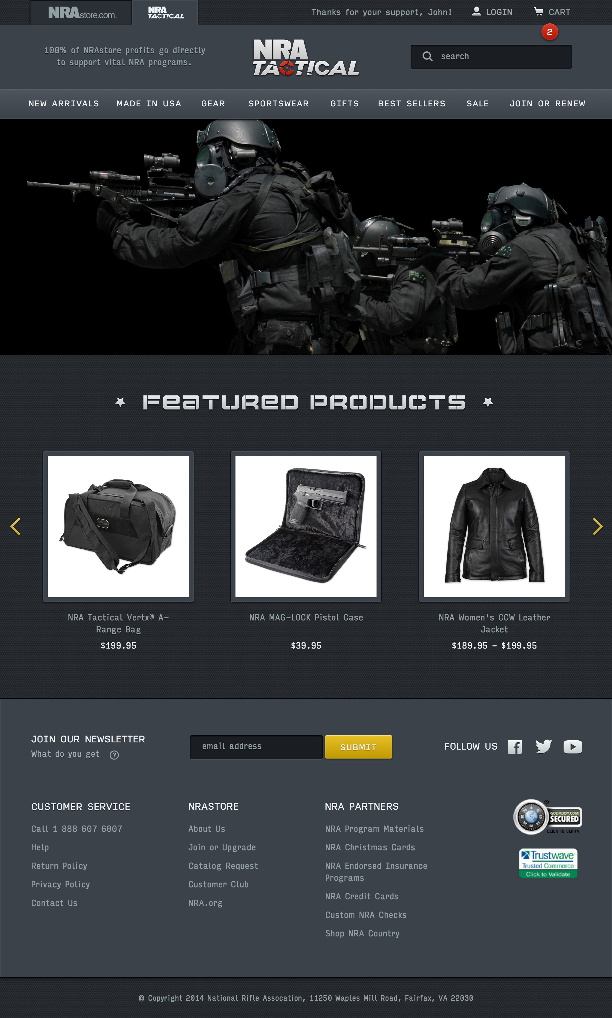 NRA Tactical on Behance