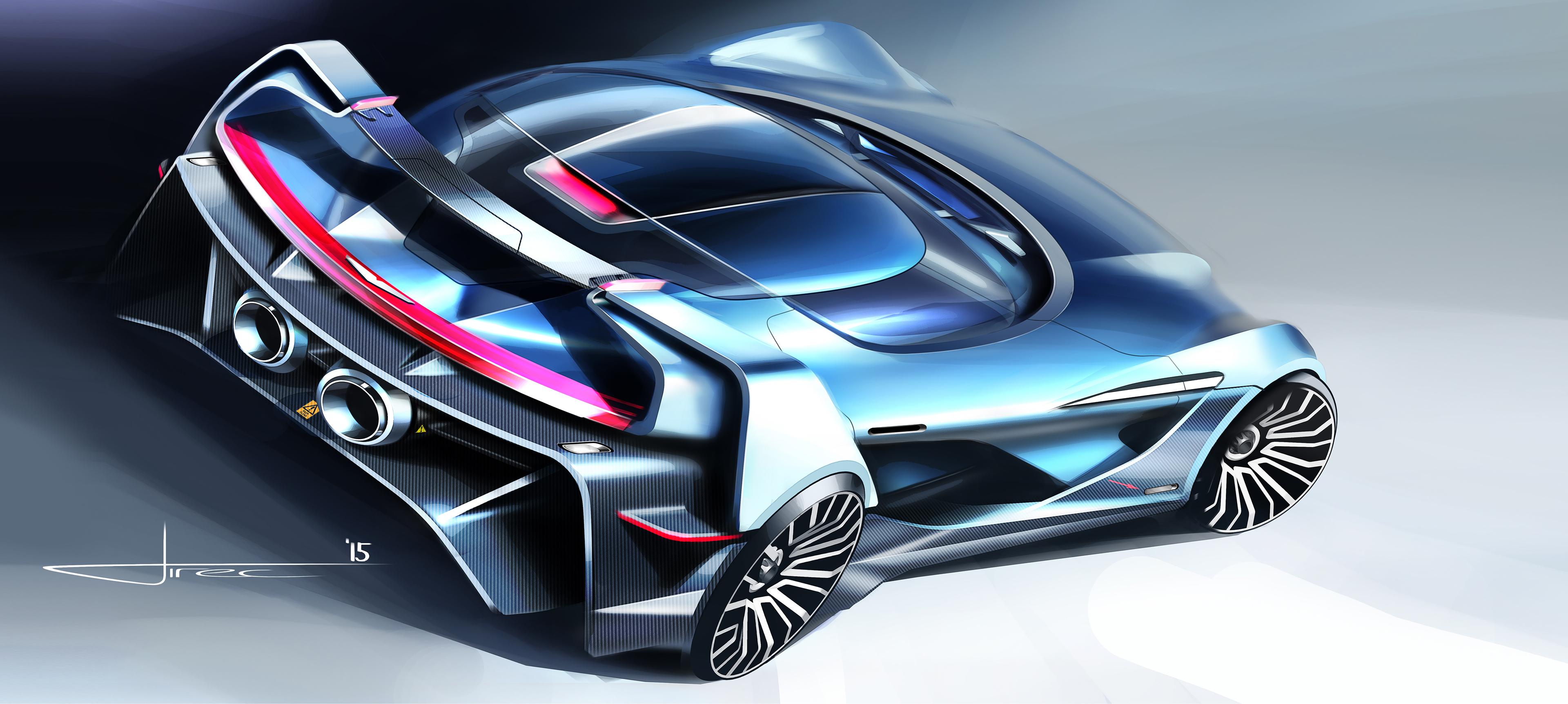 Aston Martin Tech 07 Sketches On Behance