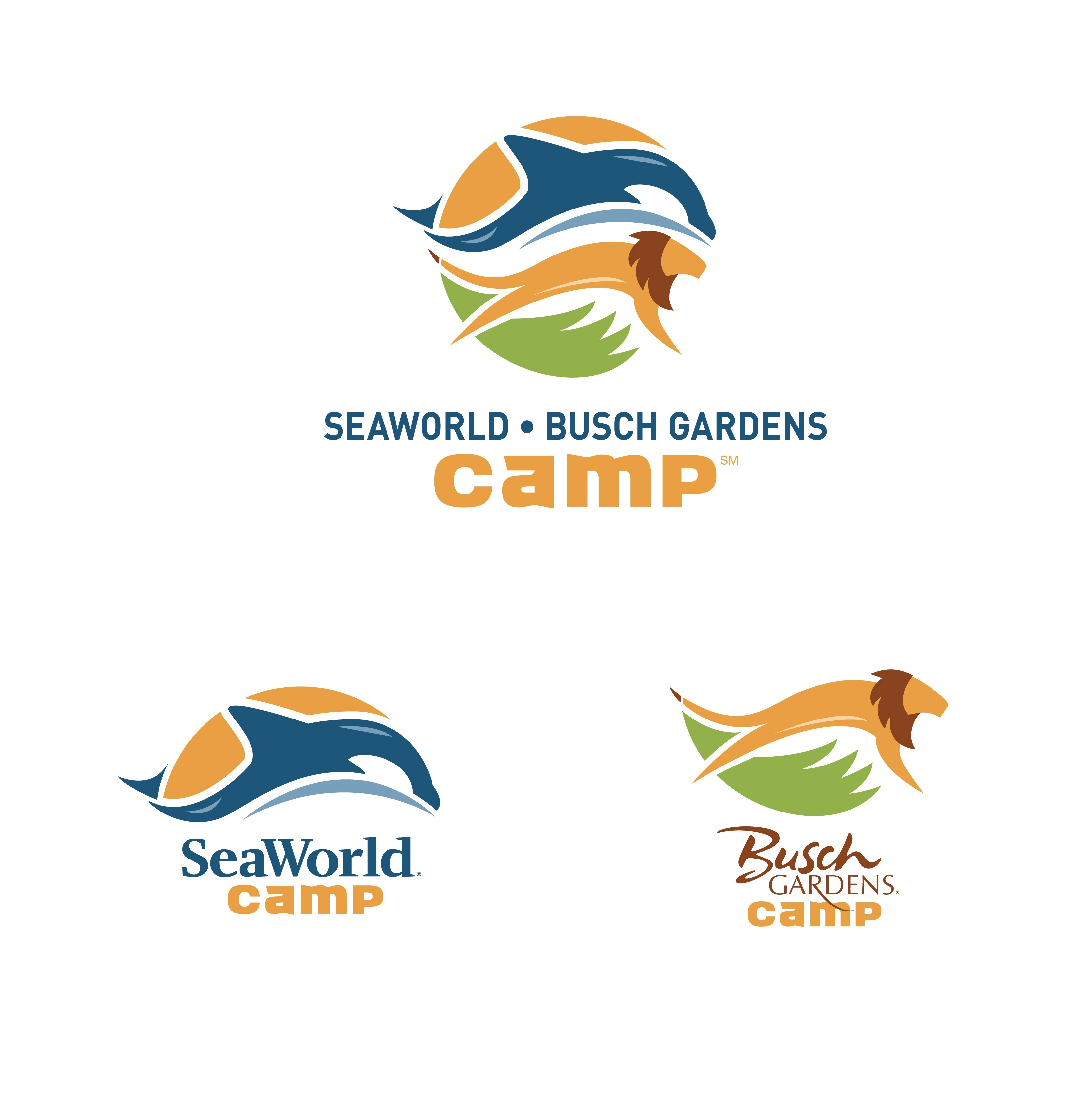 Busch Gardens SeaWorld Camp on Behance