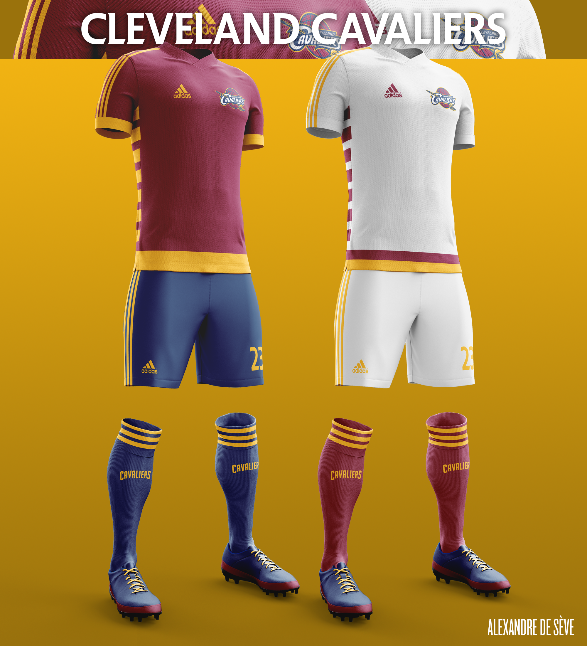 ee1457ea729 NBA football kits on Behance
