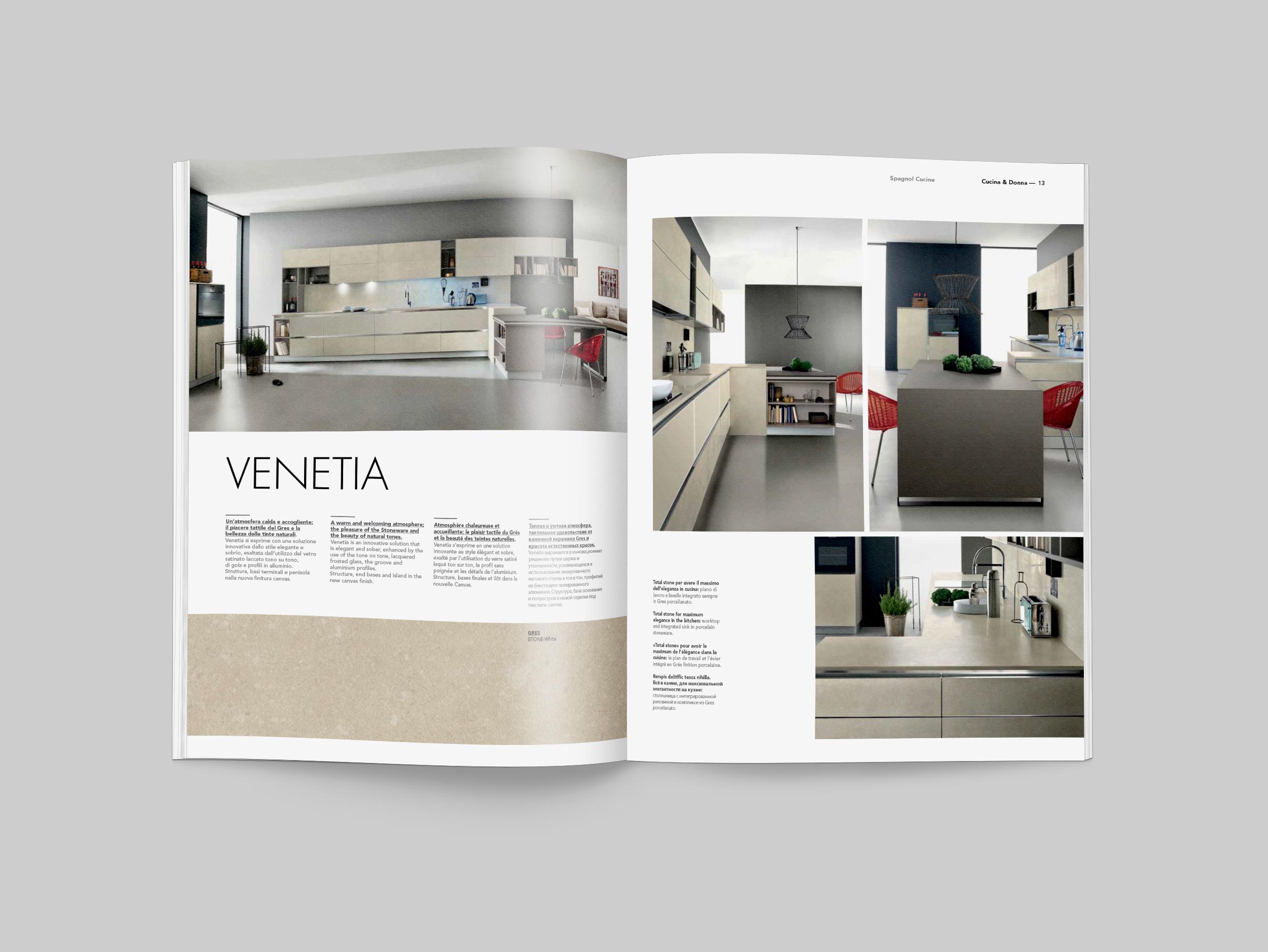 Spagnol Cucine Magazine on Behance