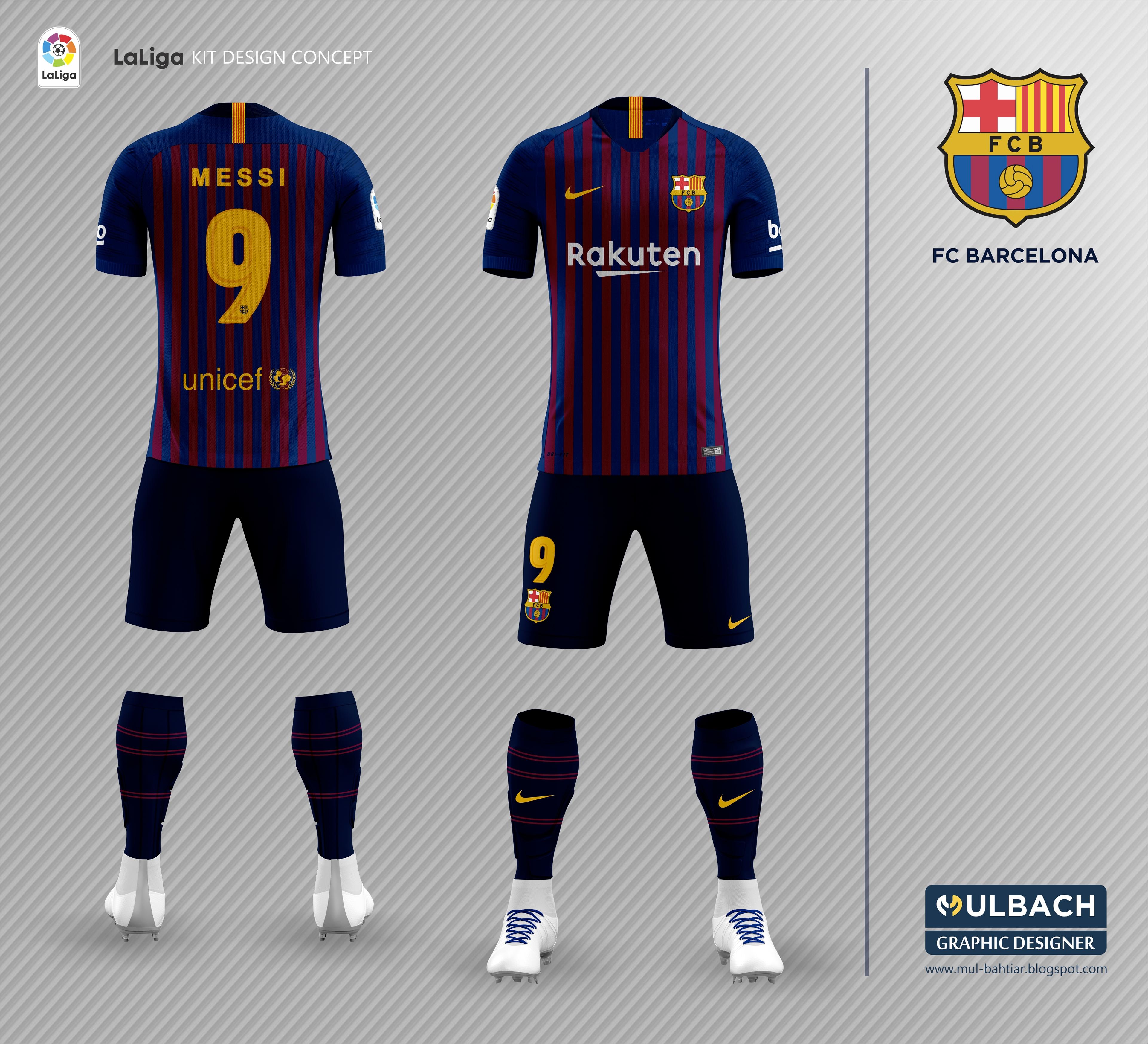 Barcelona 2018 2019 Kit Leaked On Behance
