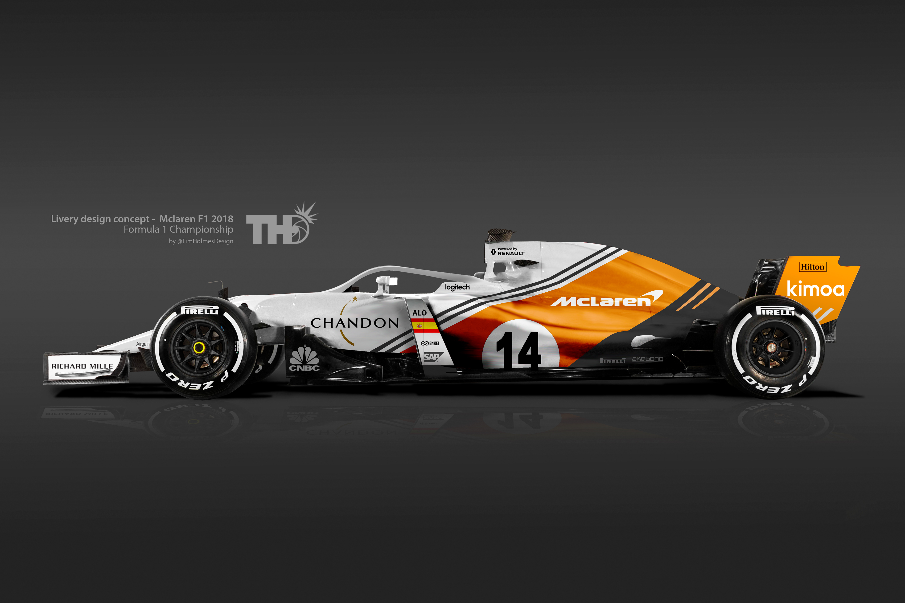 2018 F1 Concept Liveries On Behance