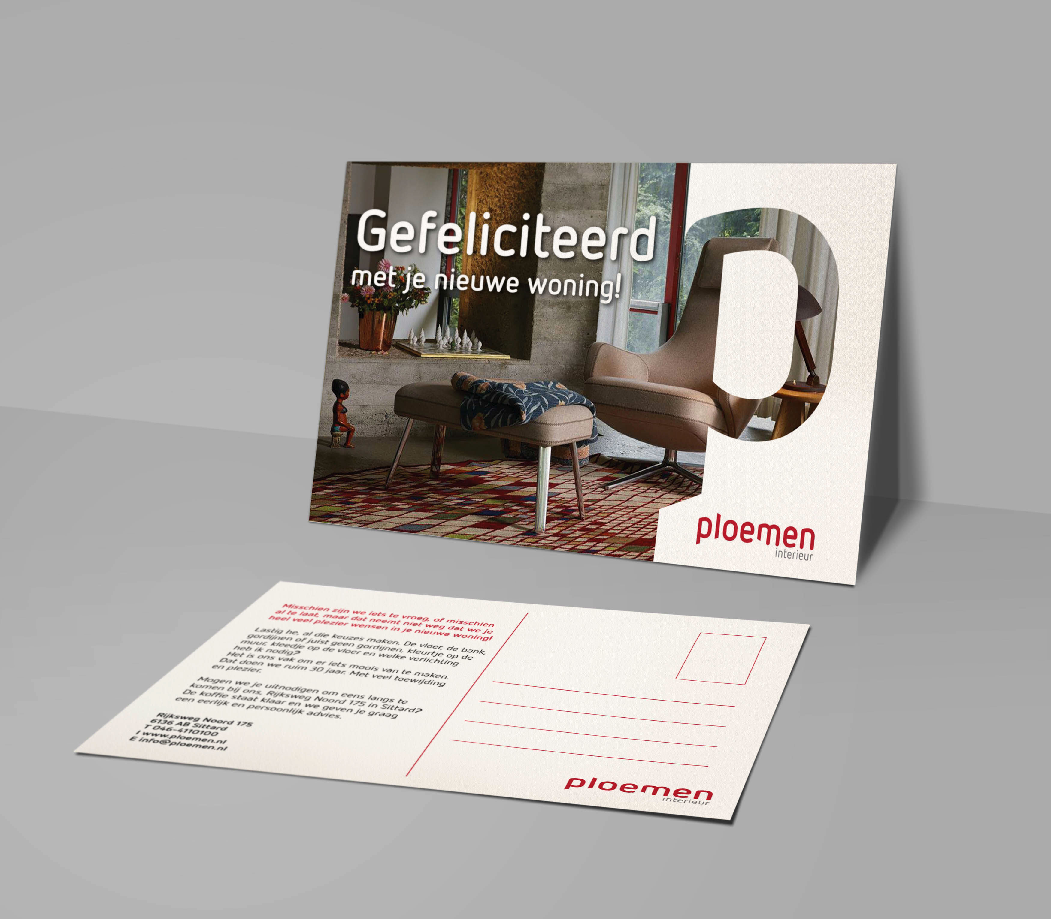 Card Design   Company Message   Ploemen Interior on Behance