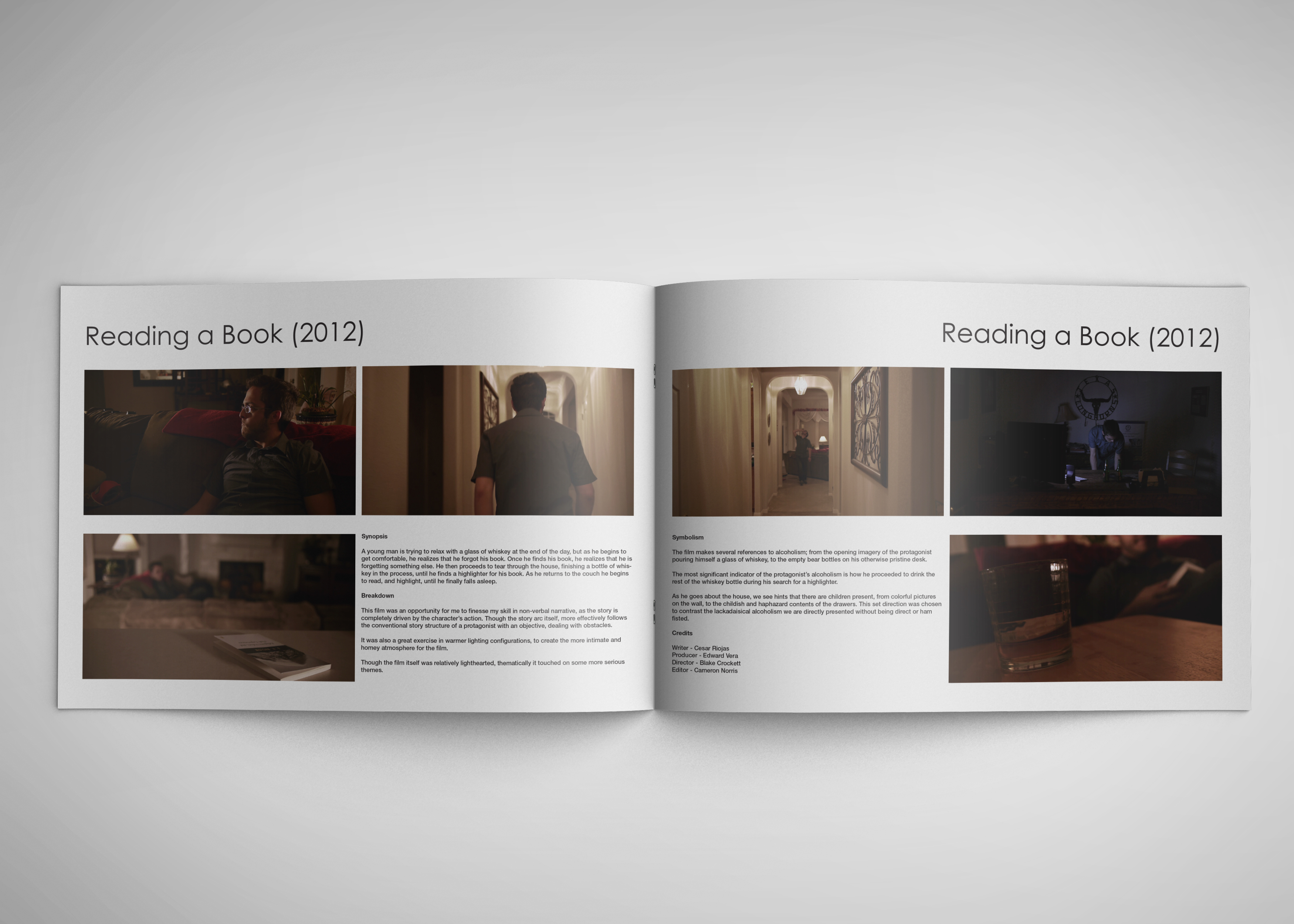 film school portfolio on behance