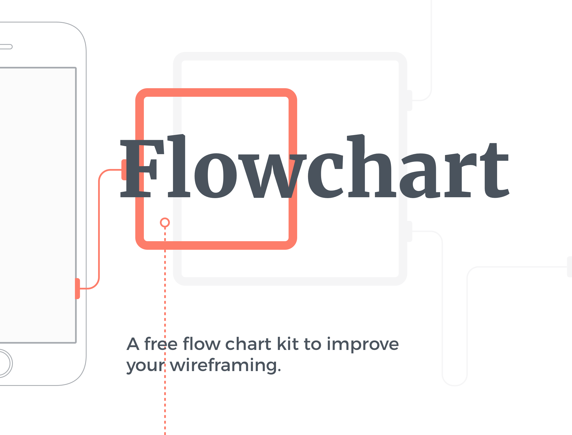 flowchart kit free mobile wireframing kit for sketch on behance rh behance net Best Diagramming Tools Sentence Diagramming Tool