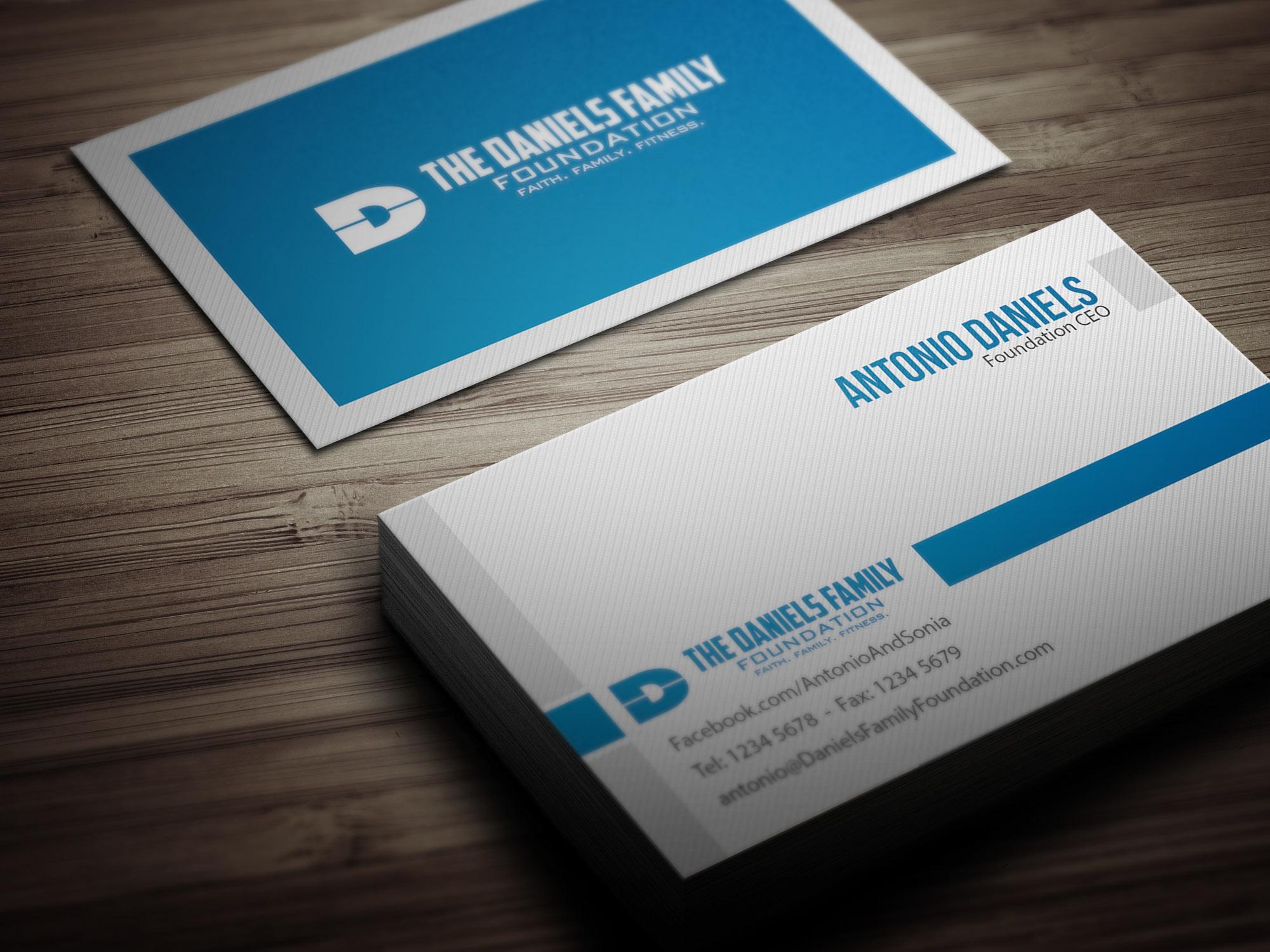 daniels family foundation branding on behance