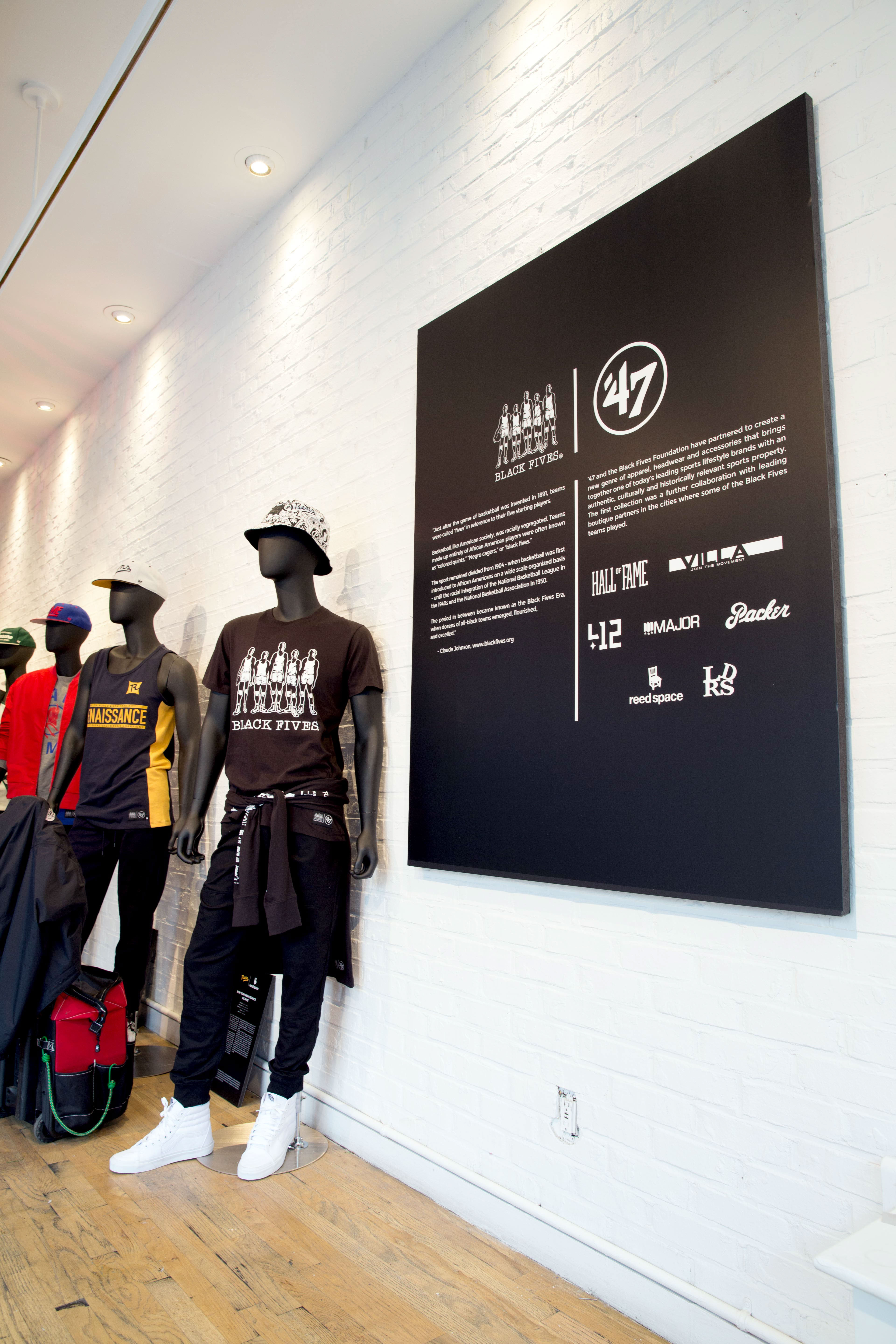 bd72f4e632206  47 x Black Fives Pop-Up Shops NYC   London on Behance
