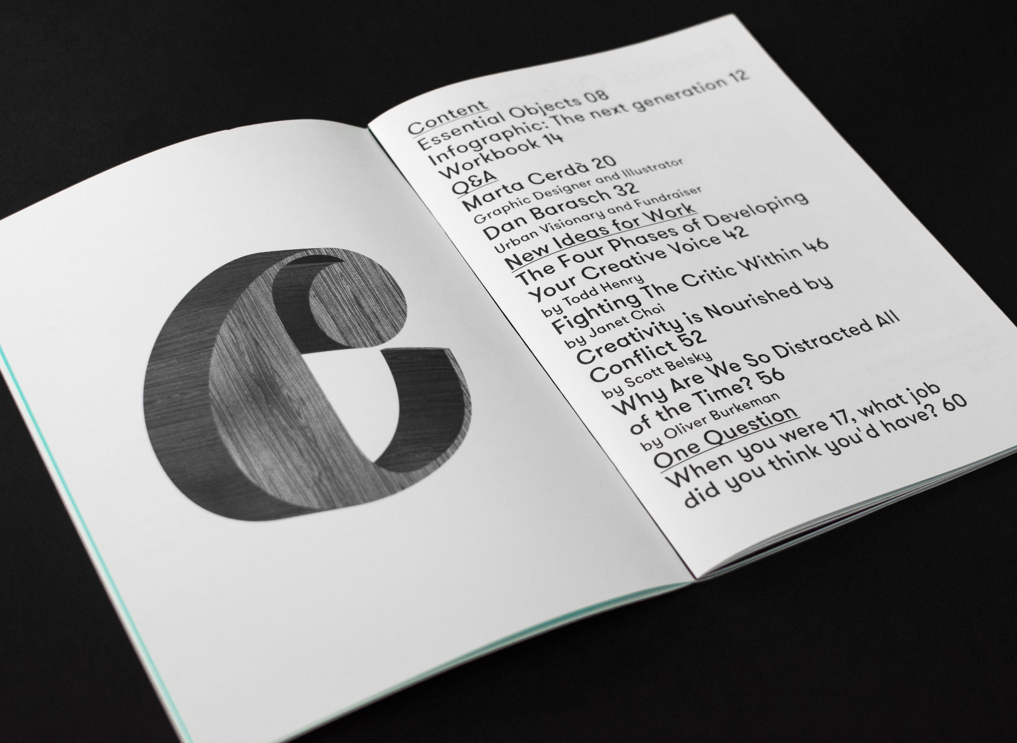 99u quarterly — issue 7 on behance