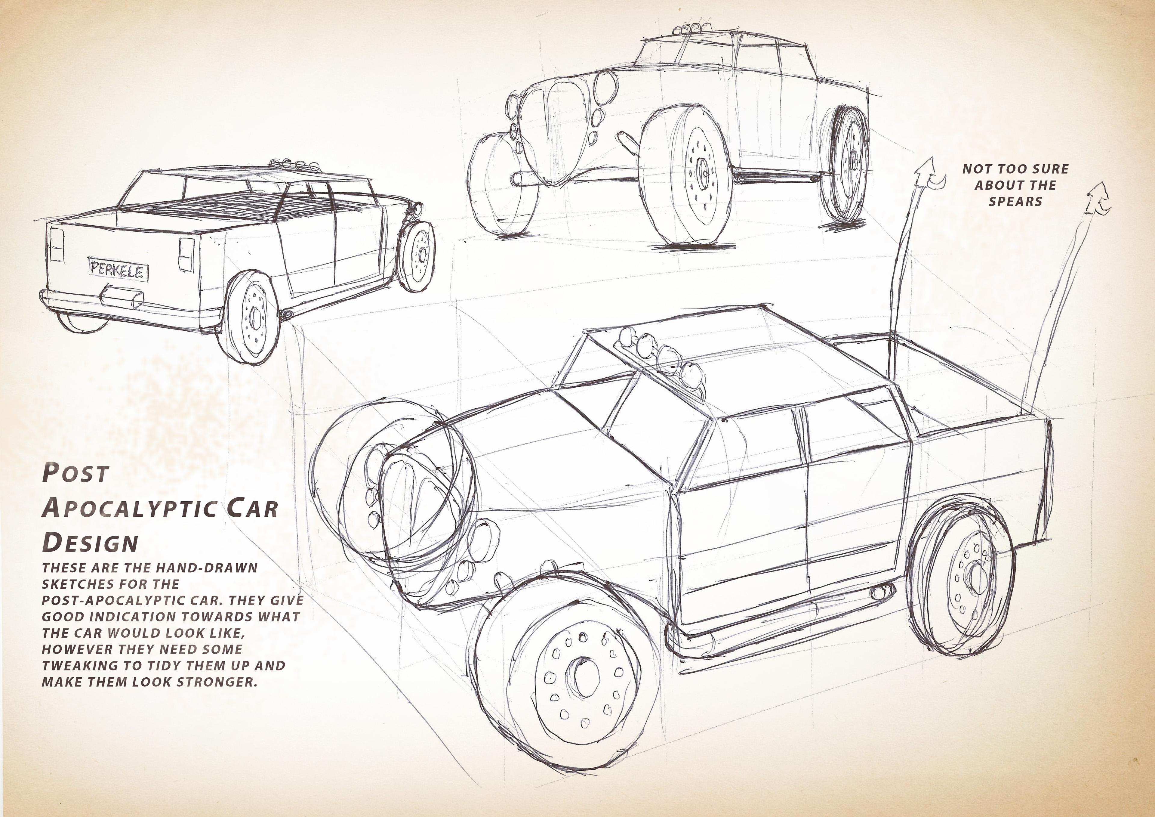 Post-Apocalyptic Car Design on Behance